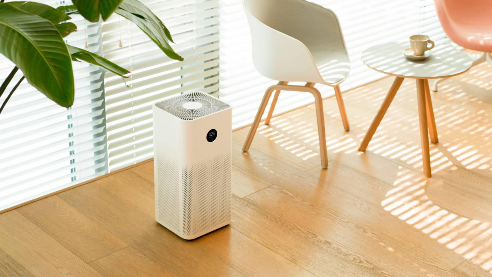 Mi Air Purifier 3H Wohnzimmer