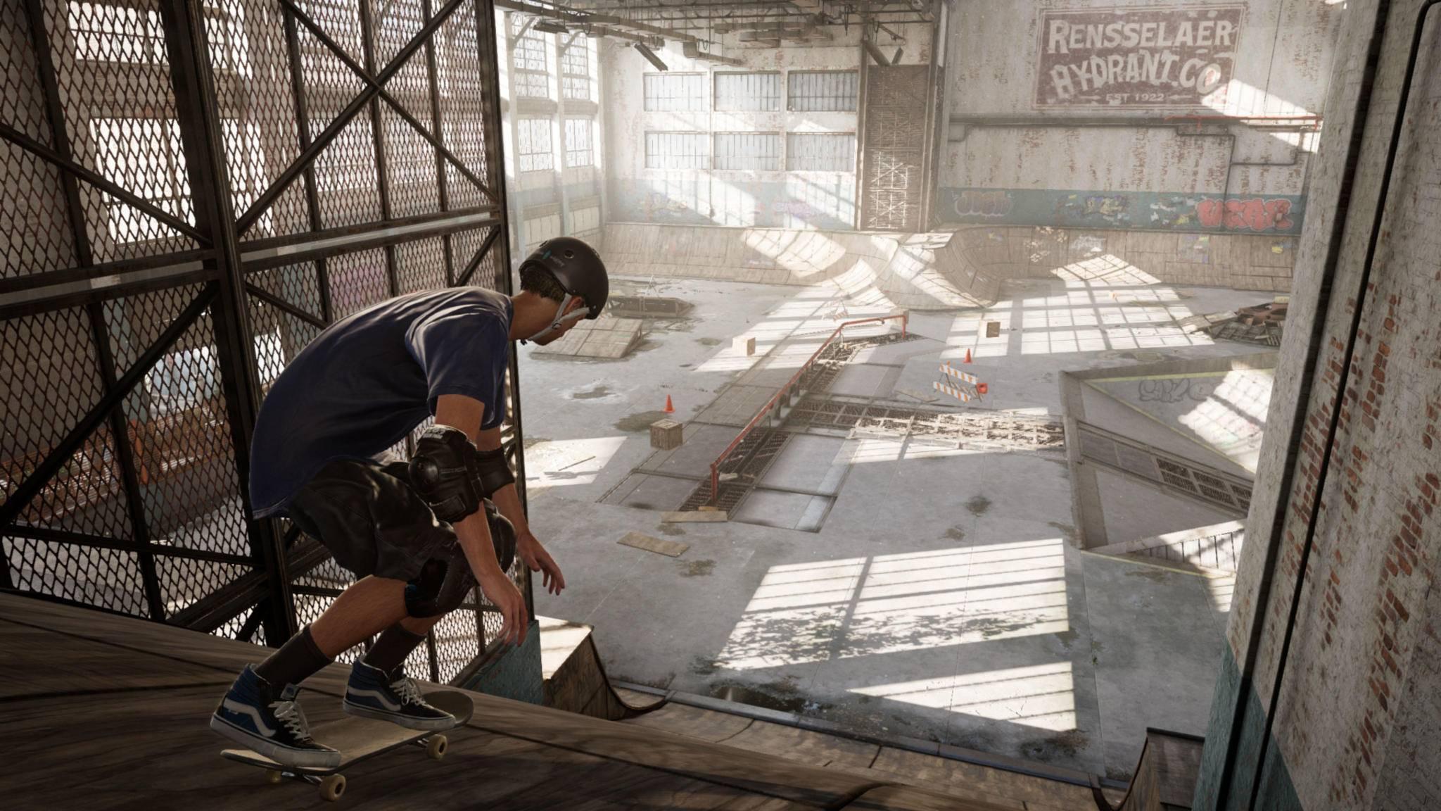 """Das Level Warehouse soll vor dem Release von """"Tony Hawk's Pro Skater 1+2"""" als Demo erscheinen."""