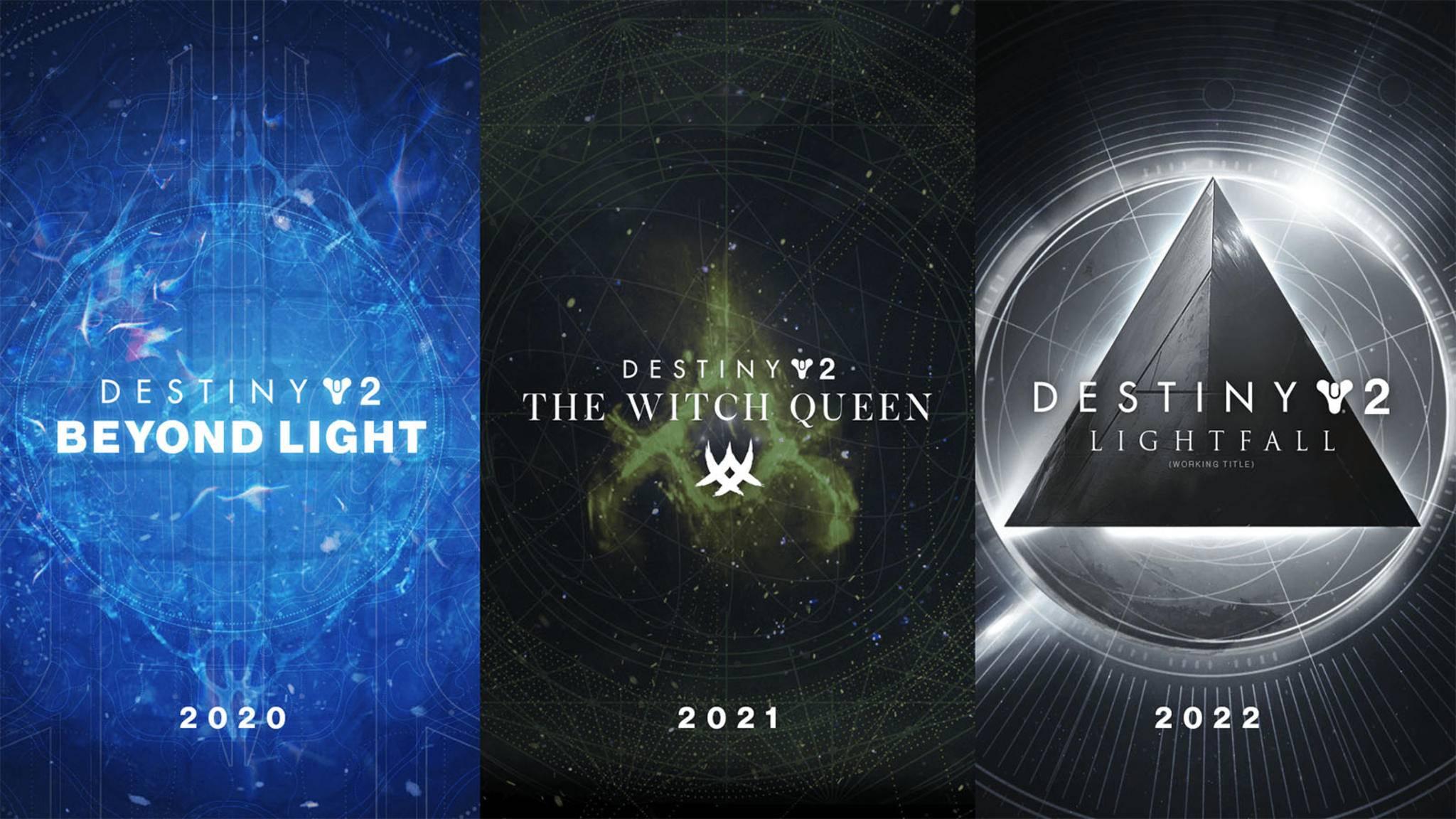 Destiny 2 Erweiterungen