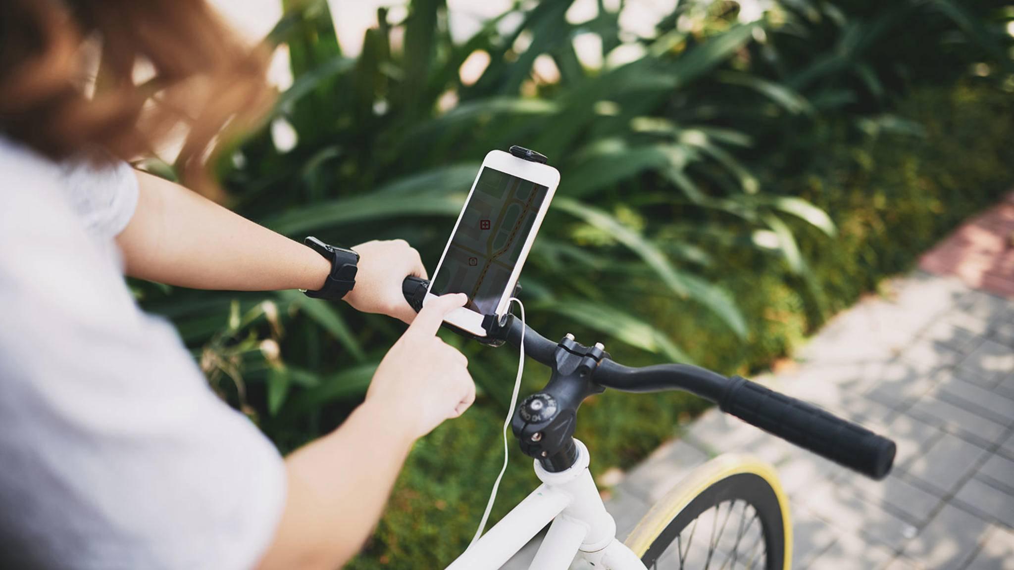 Fahrrad-Navigation per Smartphone