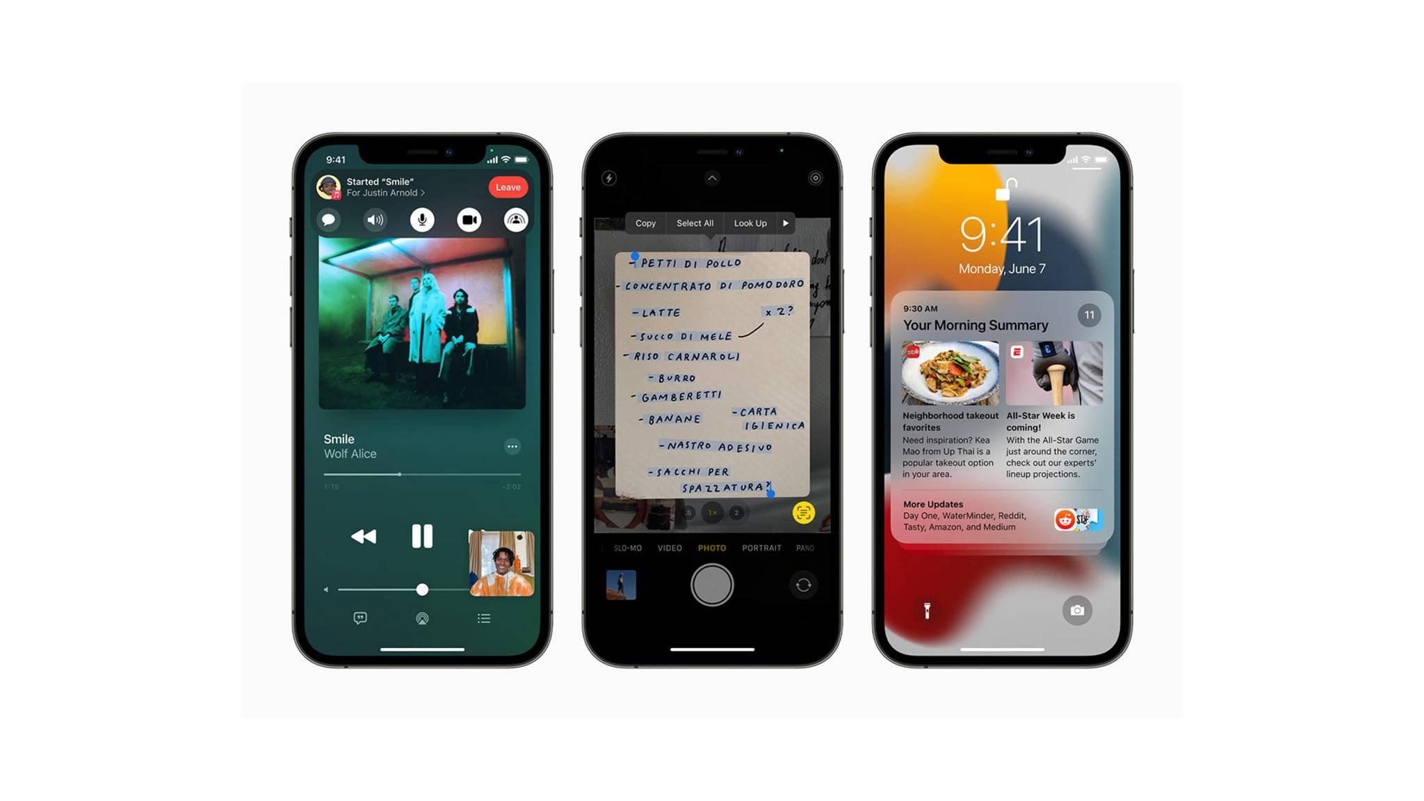 Die neuen Features von iOS 15 kannst Du ab sofort selbst testen.