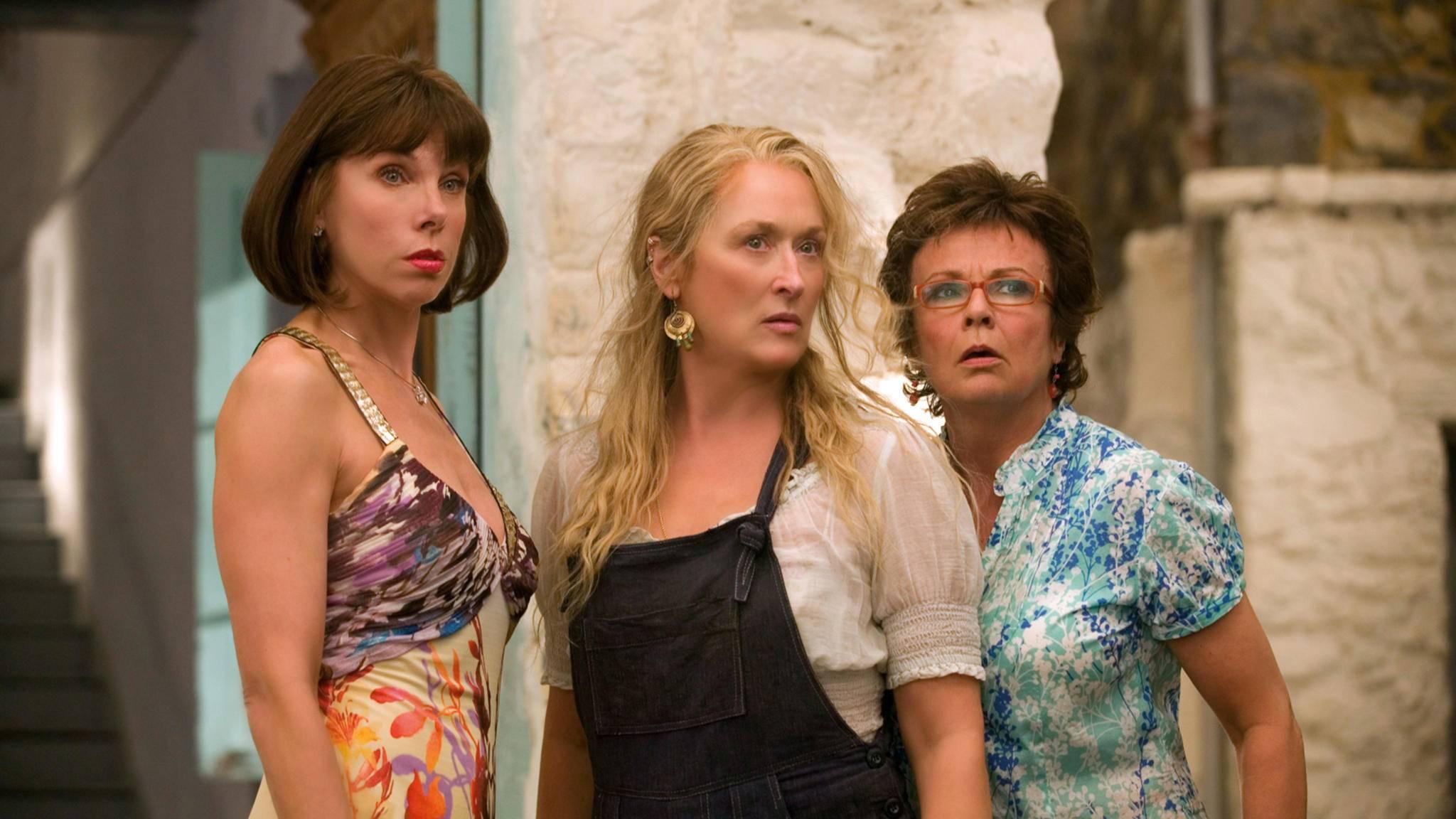 Mamma Mia! CHRISTINE BARANSKI MERYL STREEP JULIE WALTERS