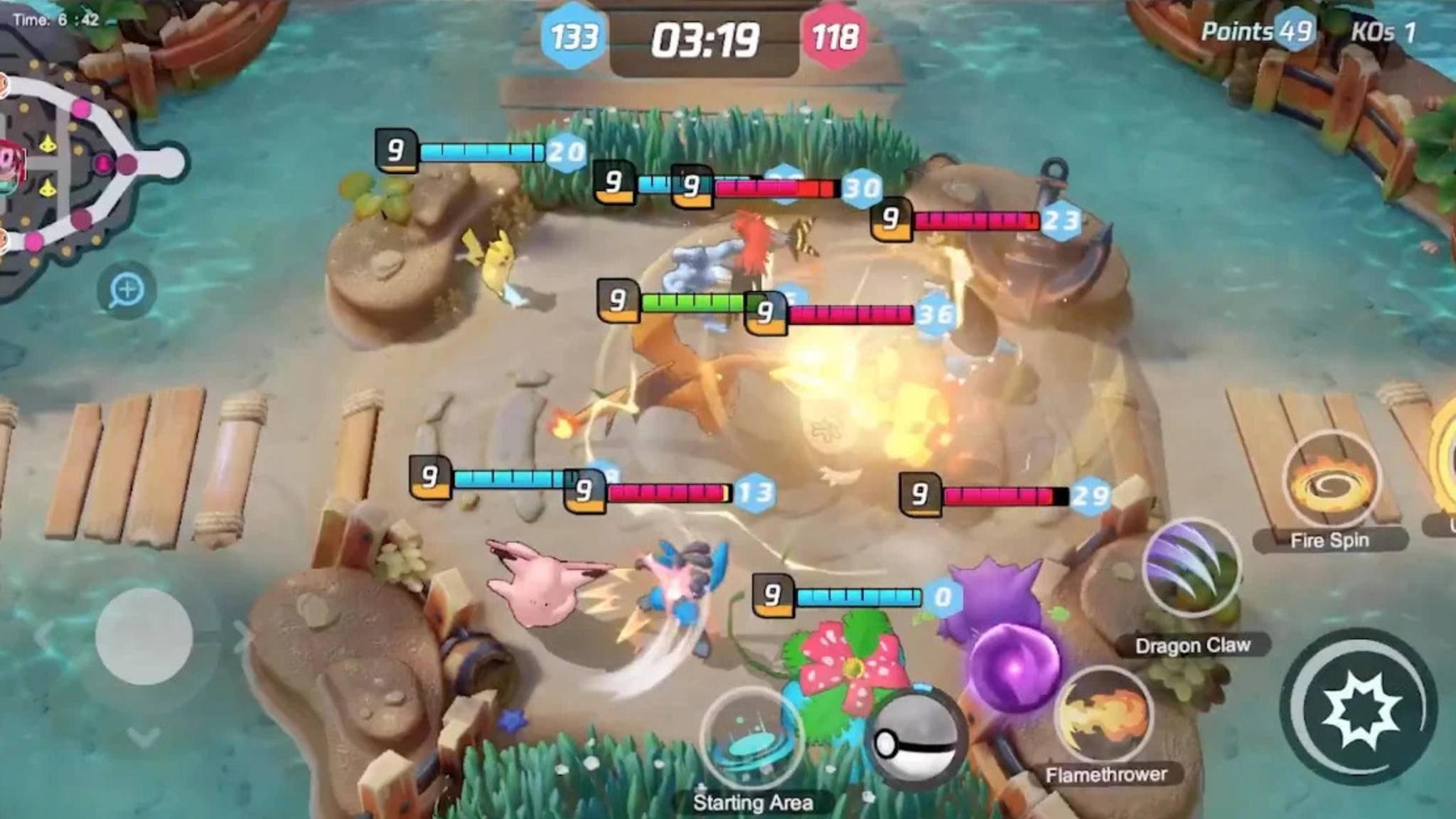 pokemon-unite-teamfight