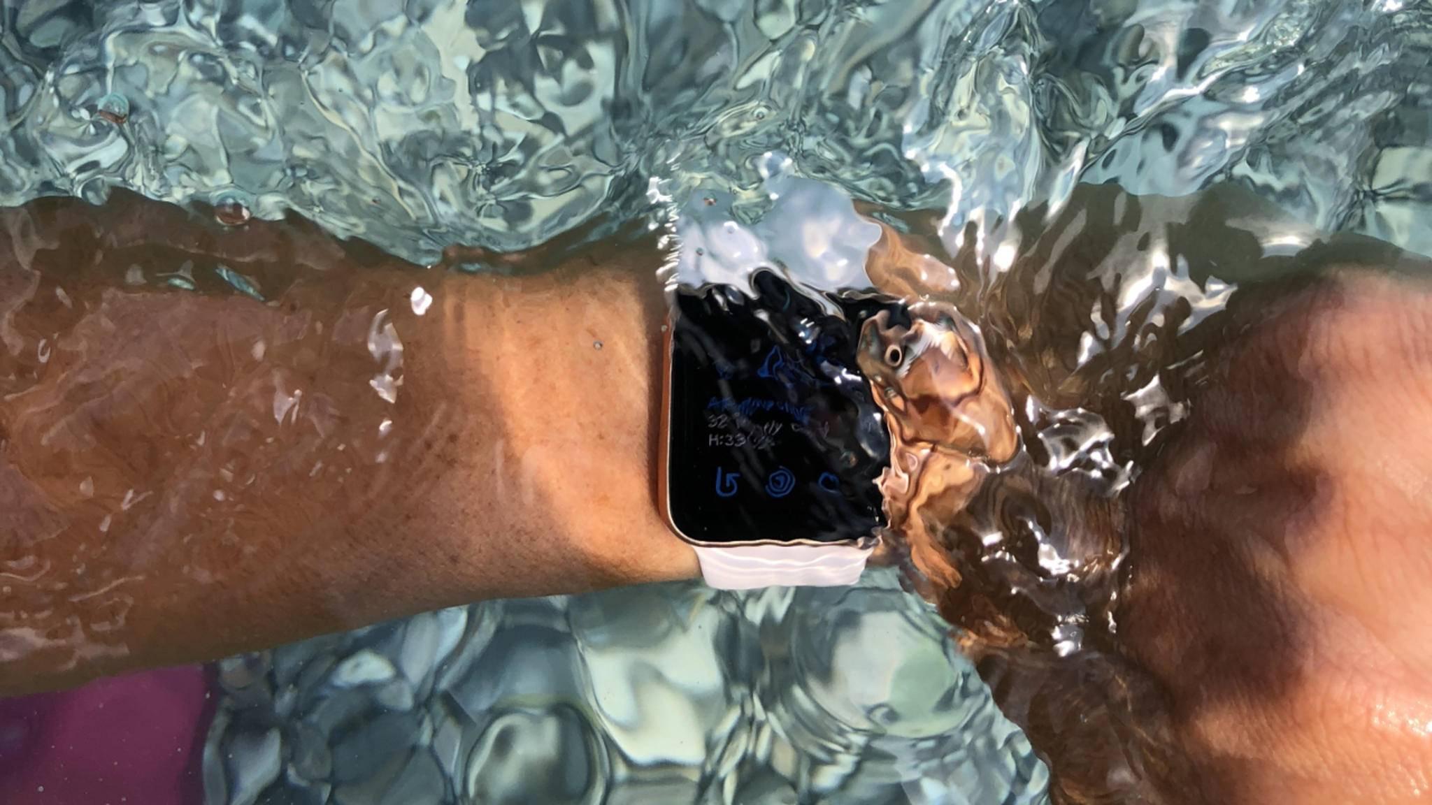 Apple Watch Wasser wasserdicht