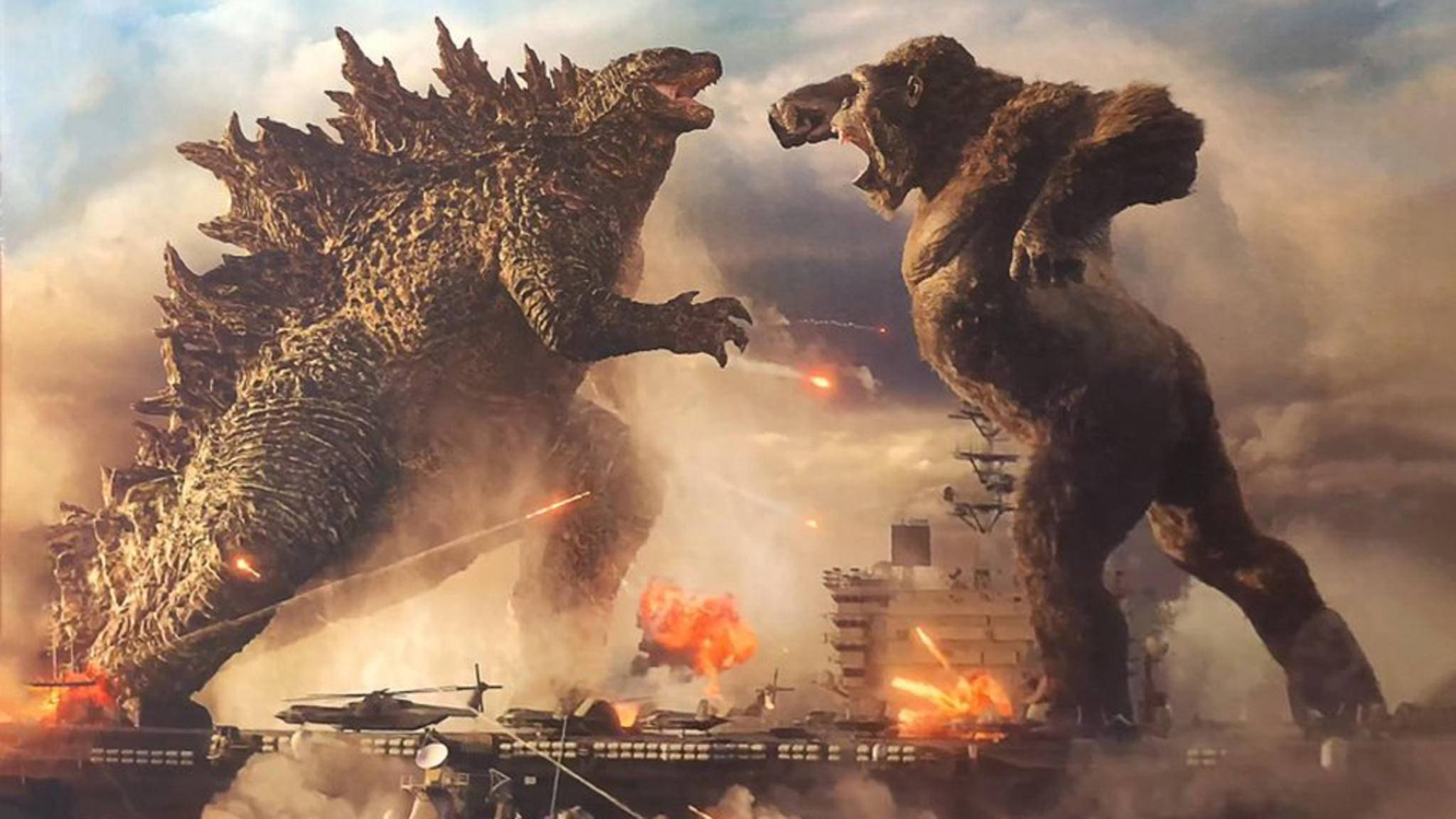 Godzilla vs. Kong Sneak Peek Art