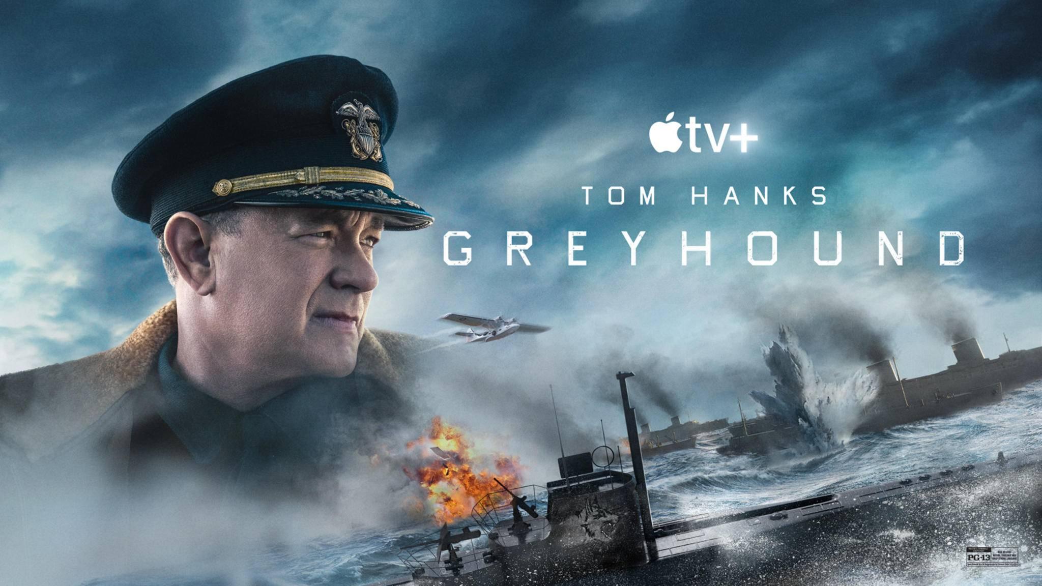 Greyhound Apple TV Key Art