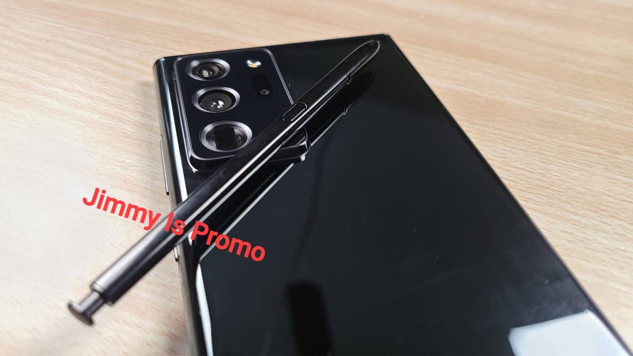 Samsung stellt das Galaxy Note 20 und Note 20 Ultra voraussichtlich Anfang August vor.
