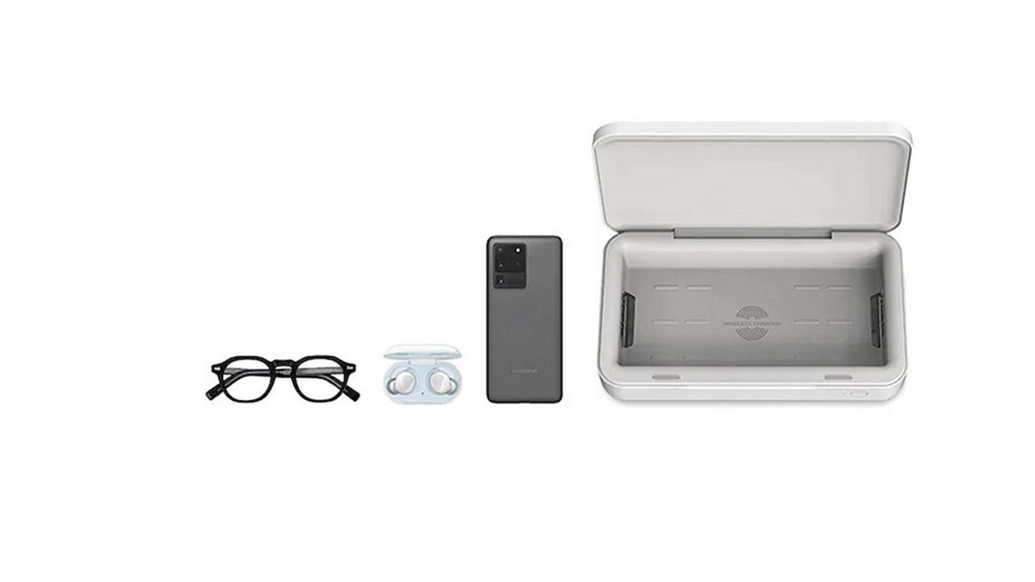 Samsung-Wireless-Charger-Sterilizer