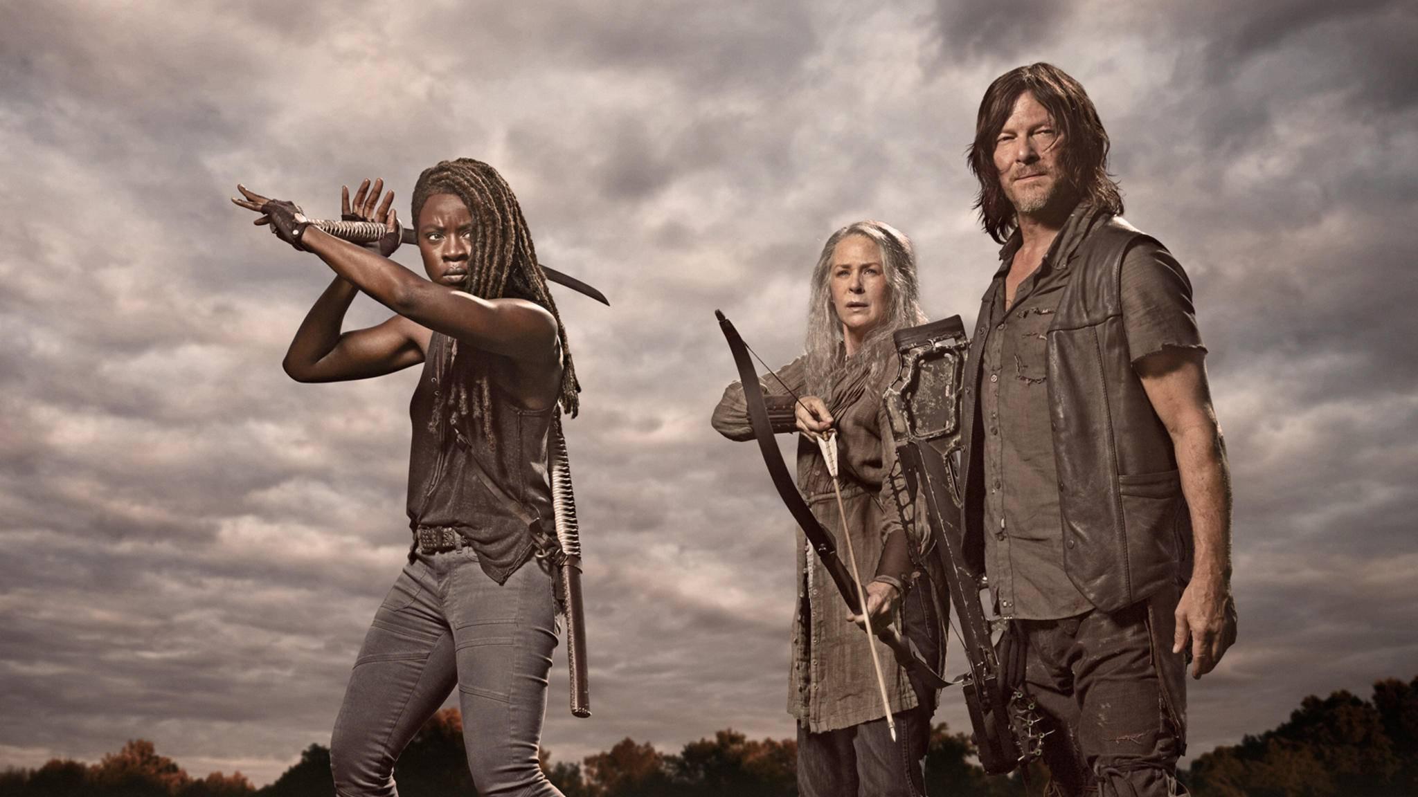 The Walking Dead Michonne Carol Daryl
