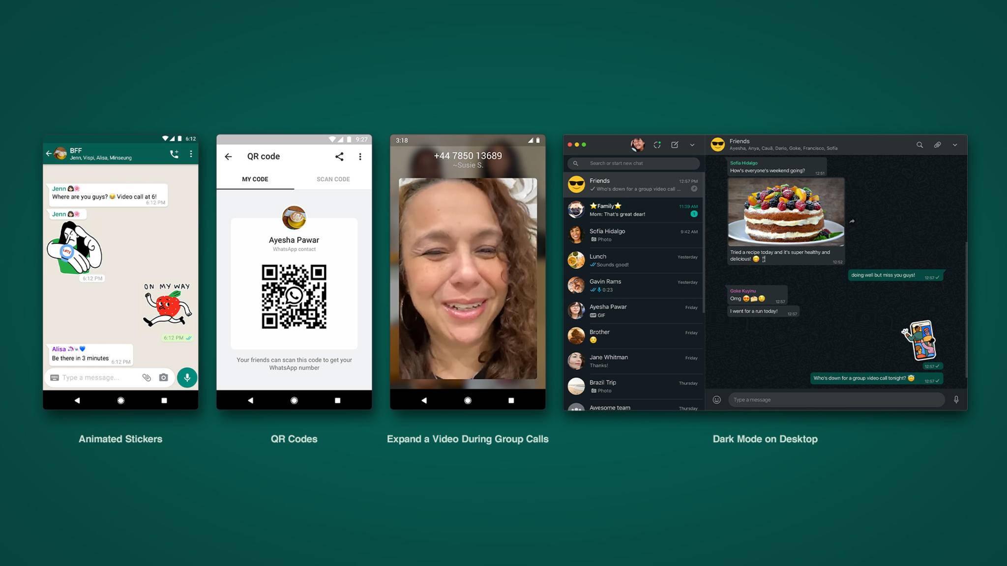 WhatsApp rollt in Kürze ein umfangreiches Update aus – inklusive neuen Stickern.
