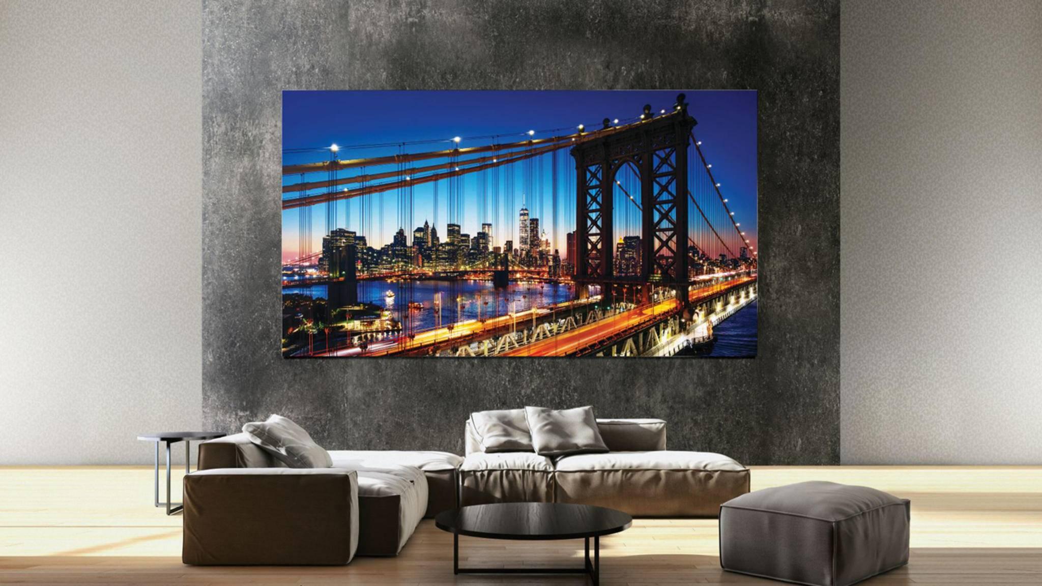 Viele bekannte Hersteller wie Samsung verkaufen mittlerweile auch 8K-TVs.