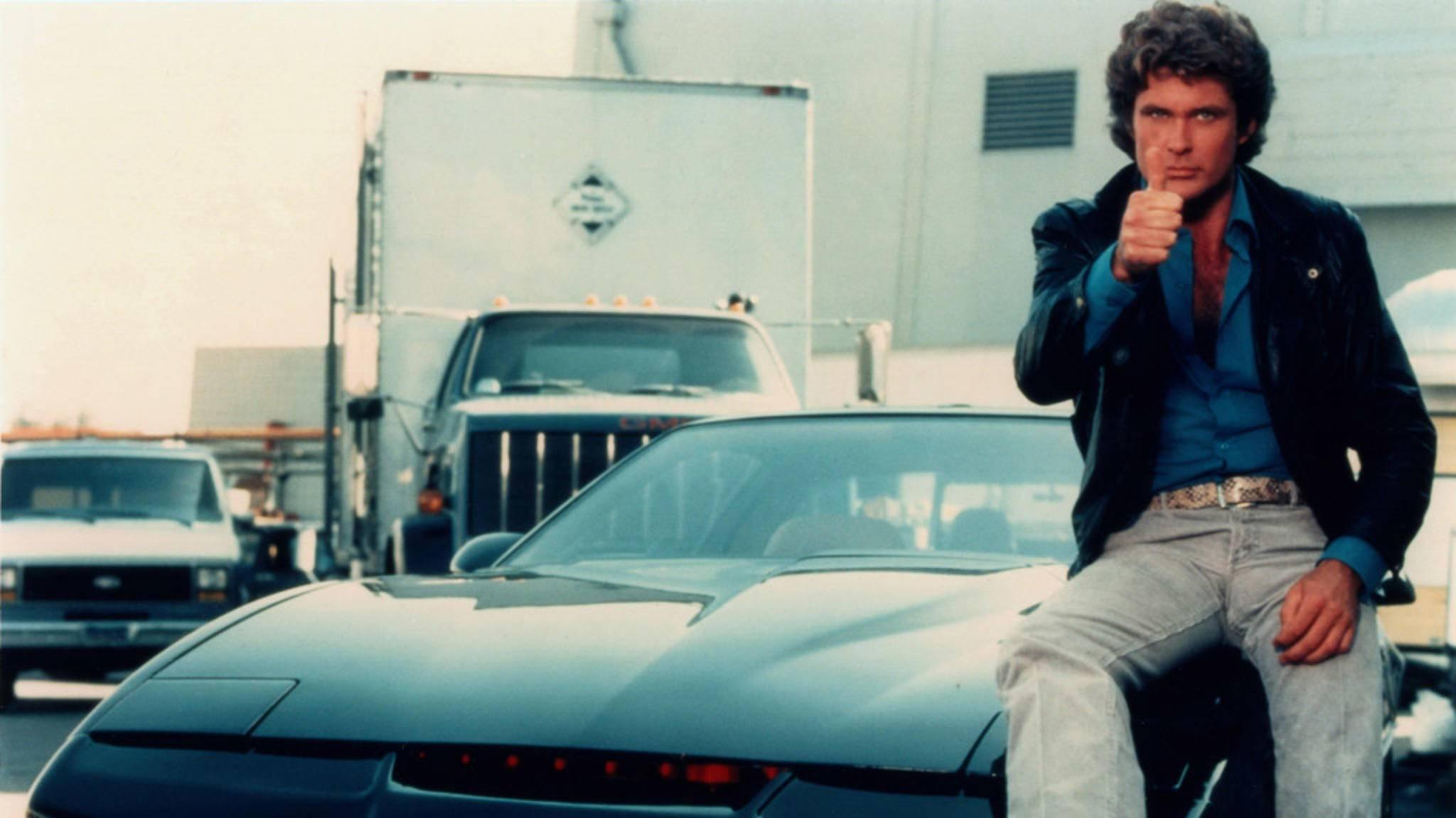 Knight Rider David Hasselhoff KITT