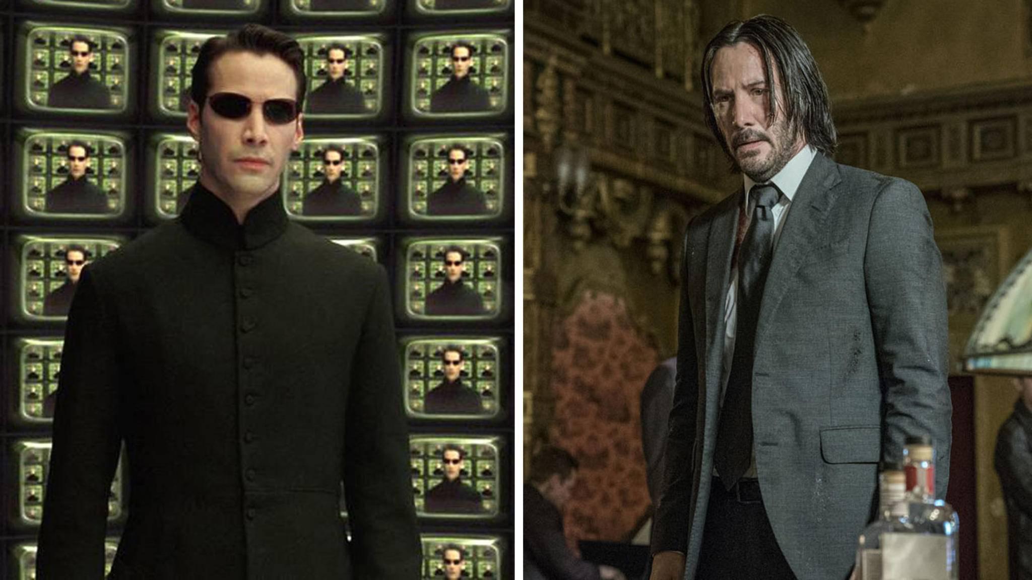 Neo aus Matrix vs John Wick