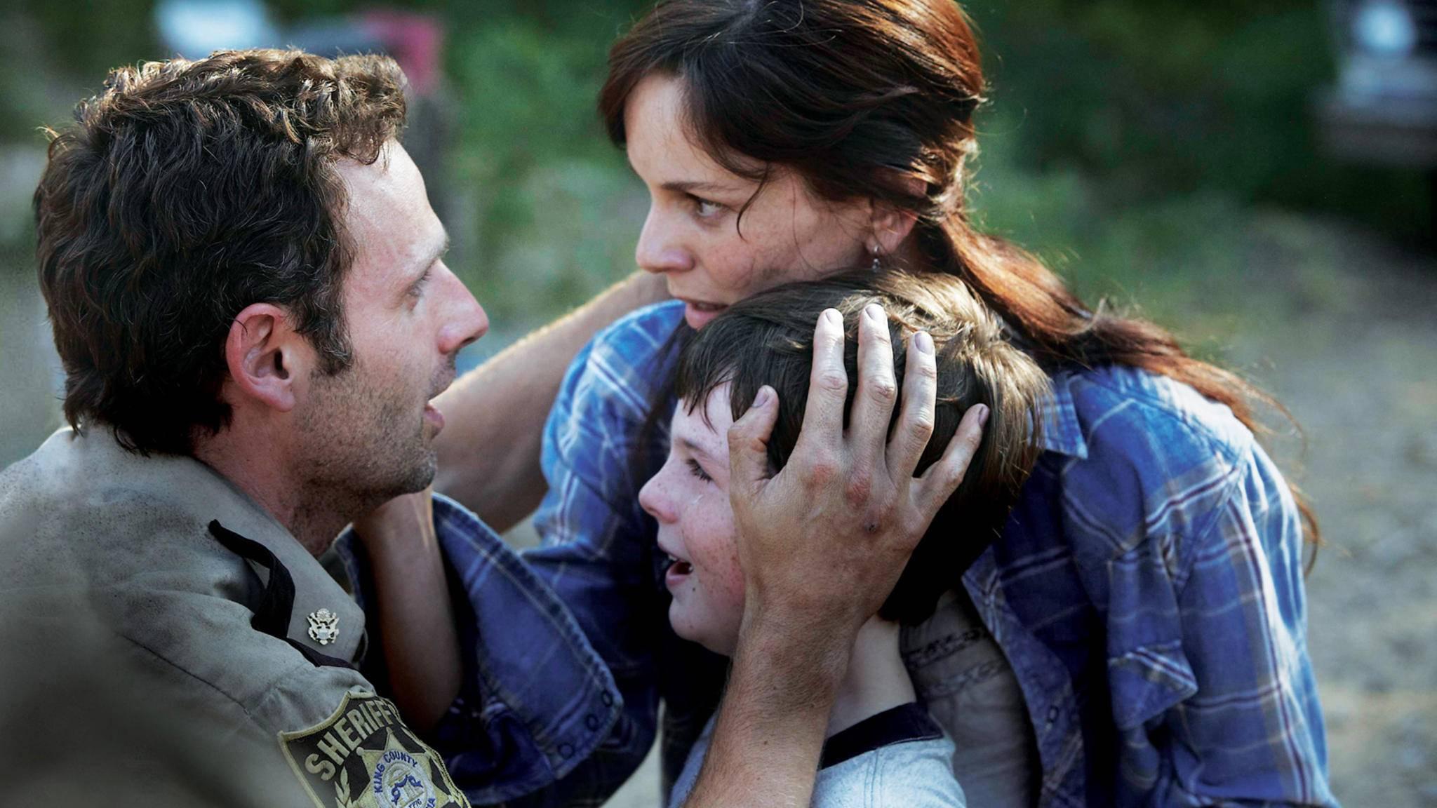 The Walking Dead_Rick Grimes_Carl Grimes_Lori Grimes