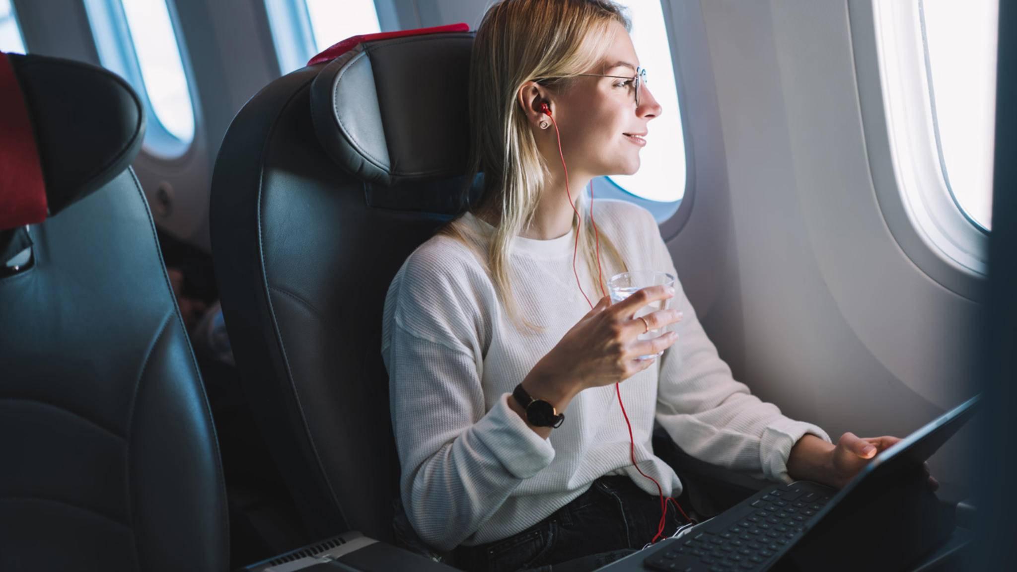 Während des Flugs YouTube gucken oder E-Mails beantworten? Das geht.