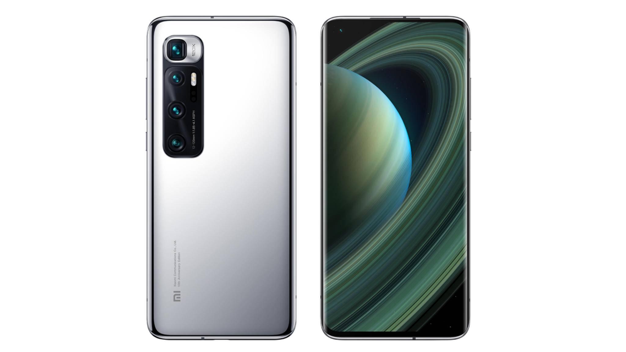 Das Xiaomi Mi 10 Ultra feiert zehn Jahre Xiaomi.
