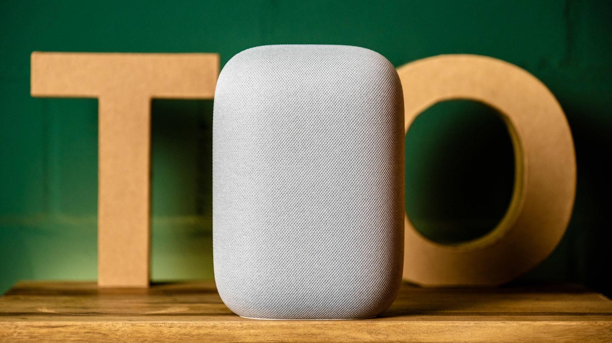 Google Nest Audio kann mehr als Musik abspielen.