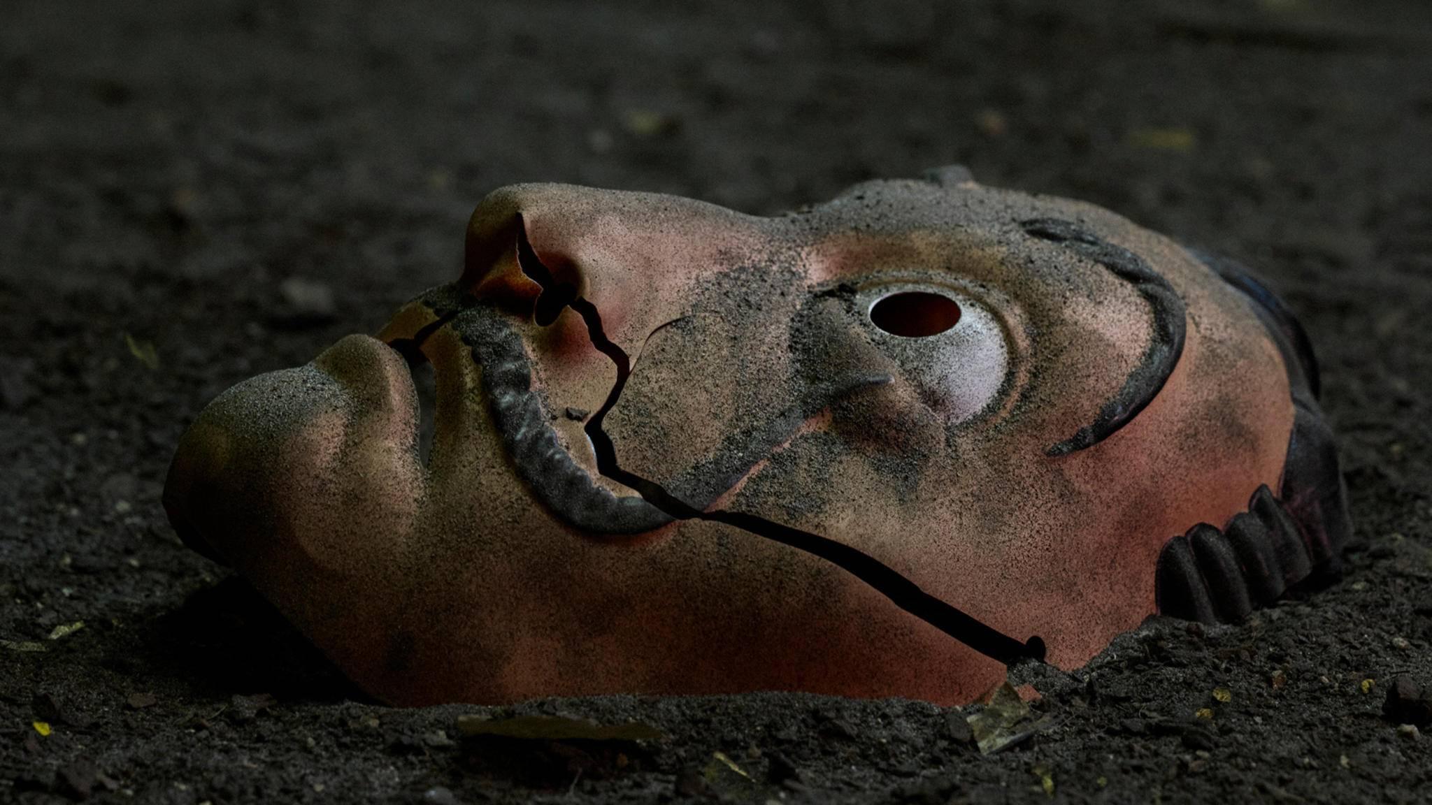 haus des geldes staffel 5 maske