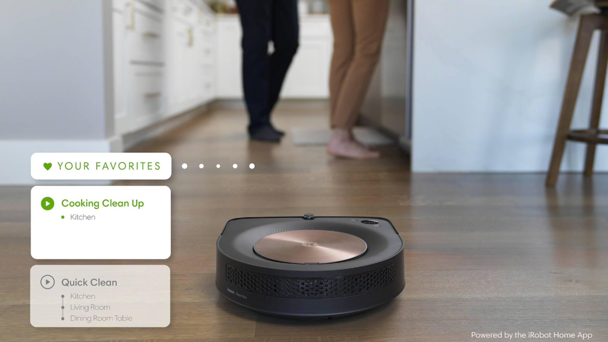 Mit neuen smarten Features sollen die Saugroboter von iRobot dem Anwender noch besser im Haushalt helfen.