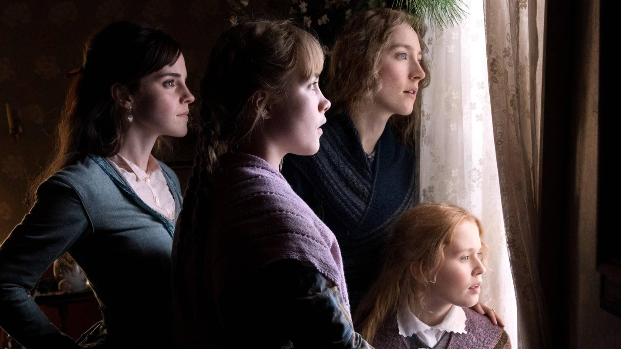 little women, Emma Watson, Florence Pugh, Saoirse Ronan, Eliza Scanlen