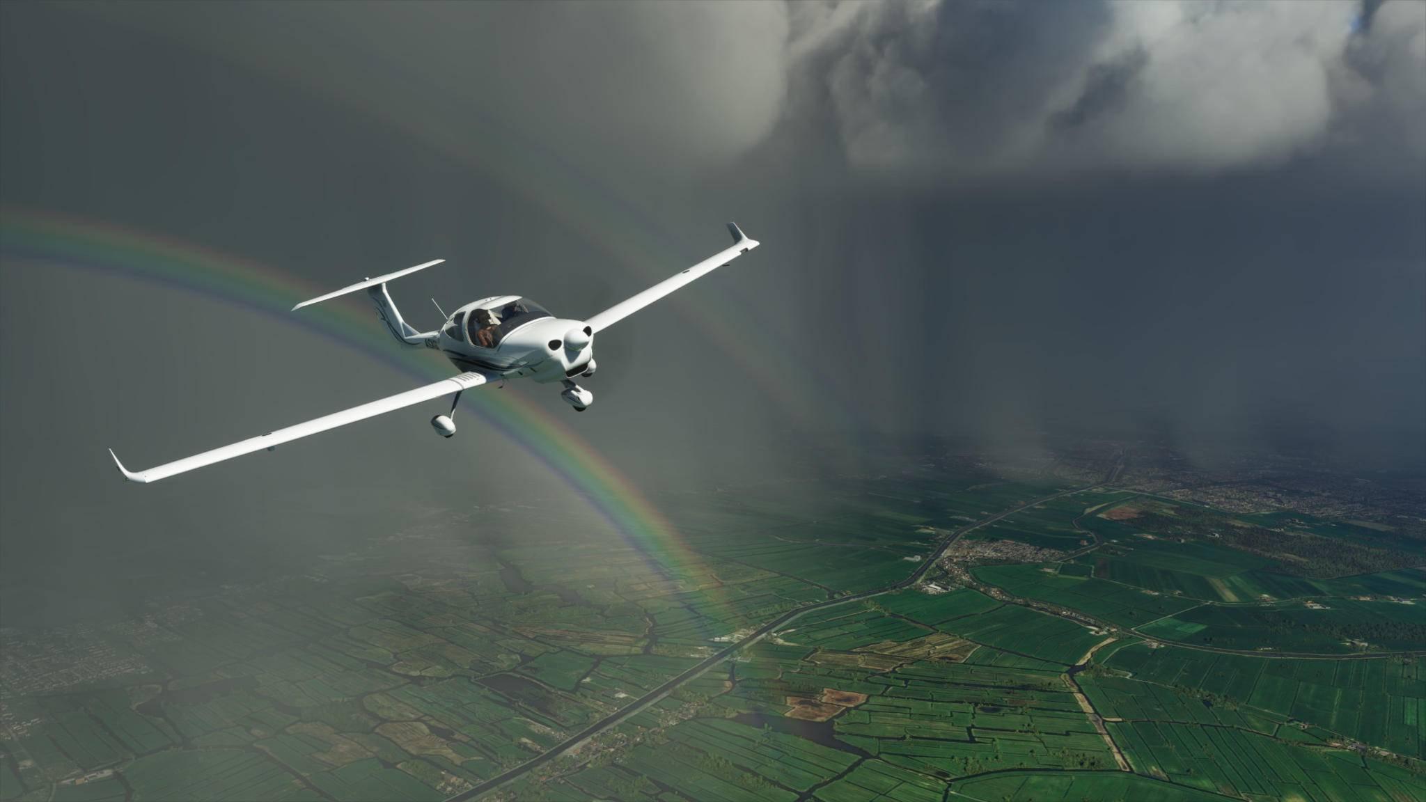 """Der """"Microsoft Flight Simulator"""" lässt Dich die ganze Welt bereisen – auch Deine Nachbarschaft."""
