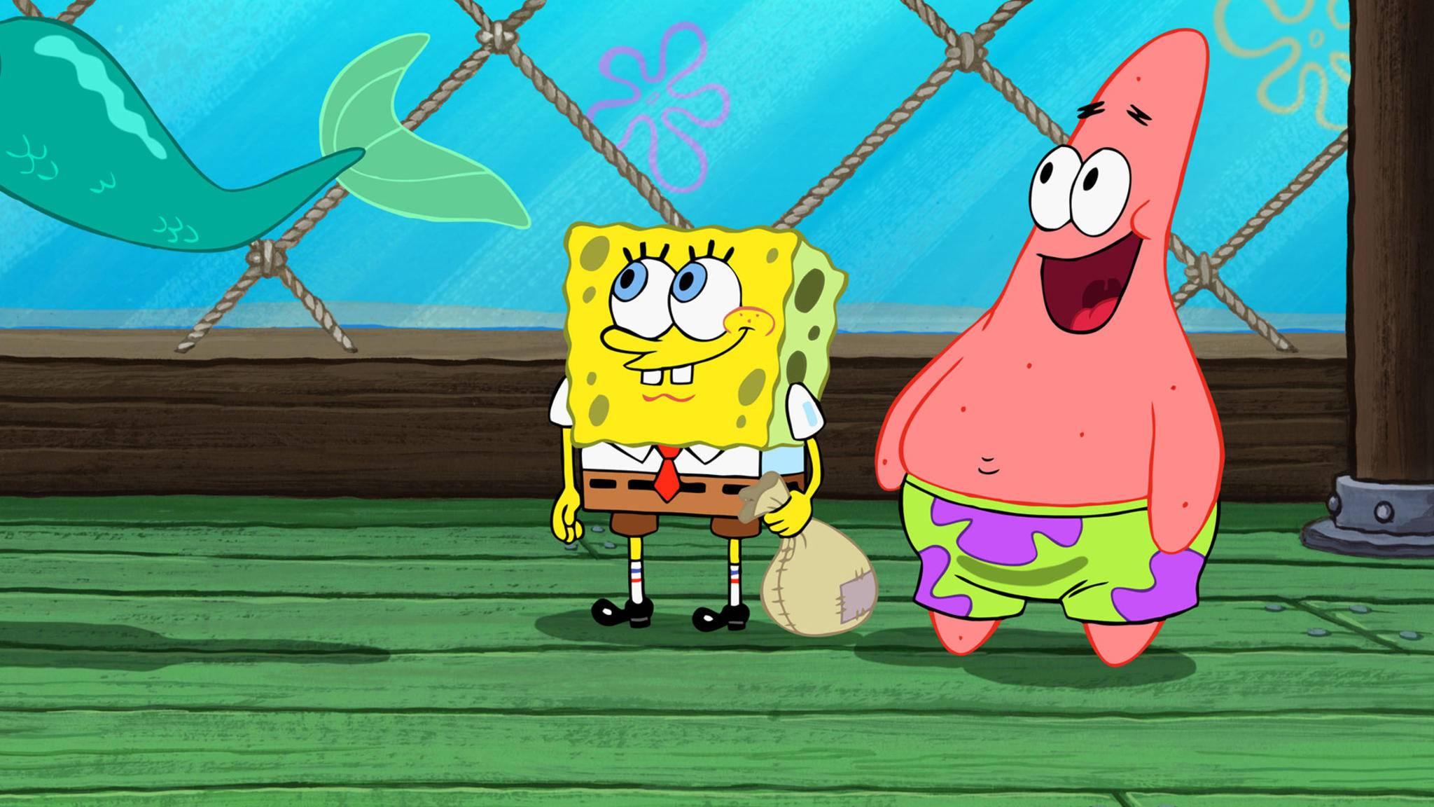 spongebob schwammkopf patrick