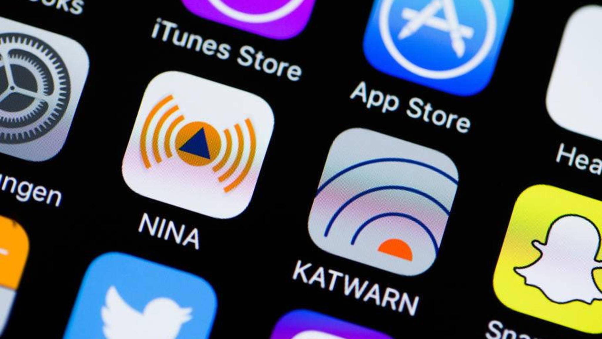 NINA und Katwarn sind zwei unterschiedliche Warn-Apps.