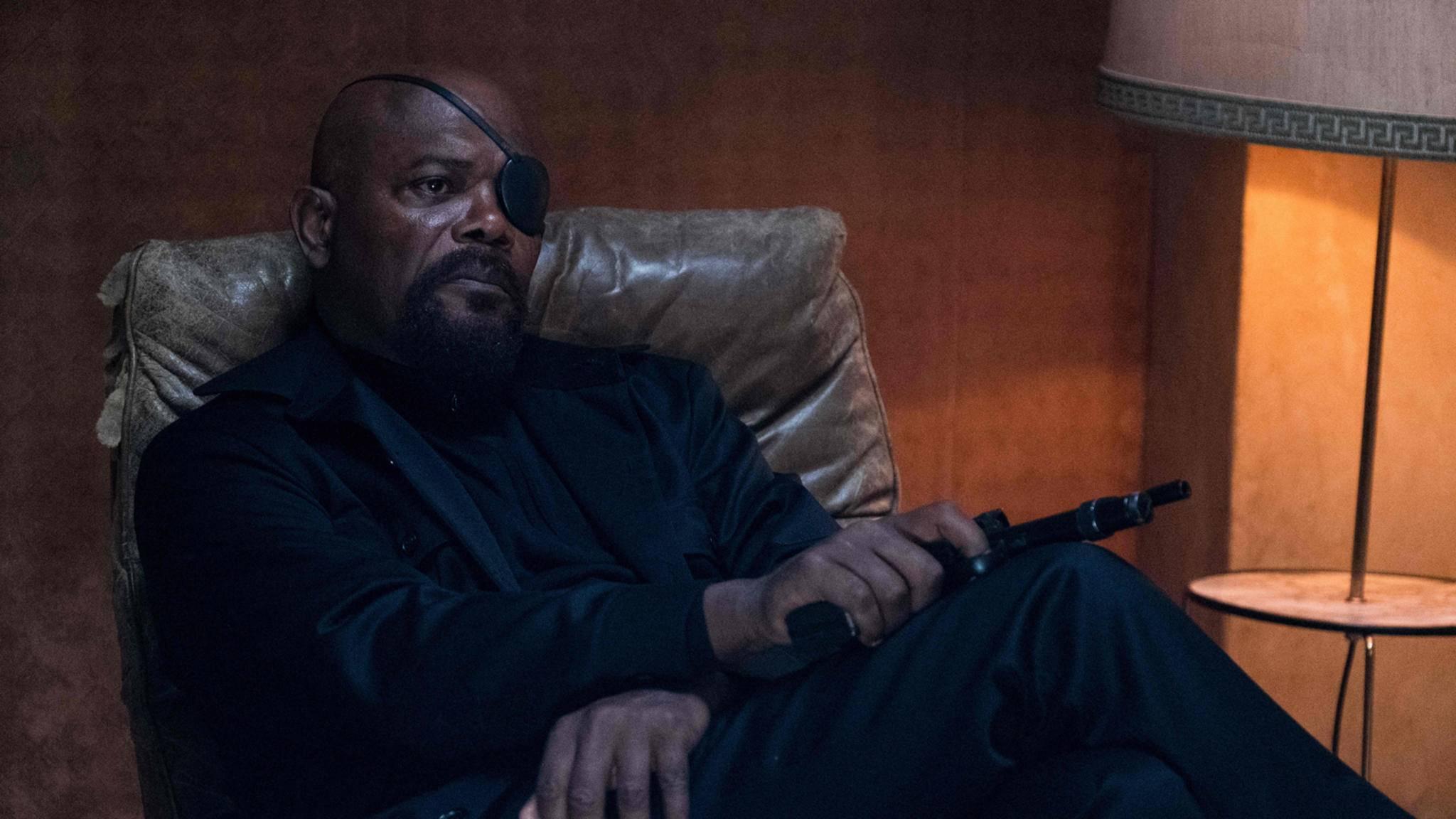 Samuel L Jackson Nick Fury Spider-Man: Far From Home