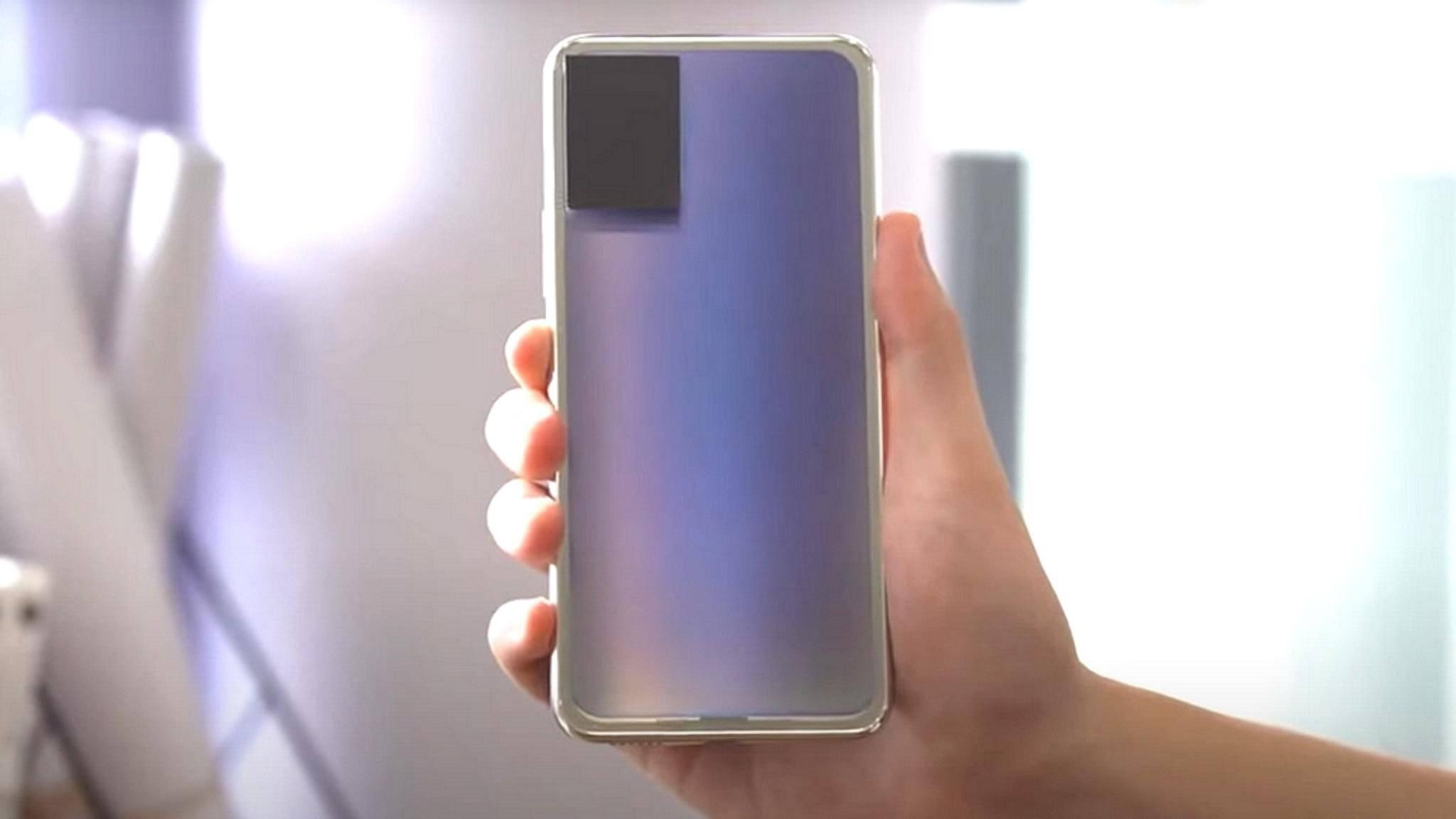 Das ominöse Vivo-Smartphone ändert seine Farbe.