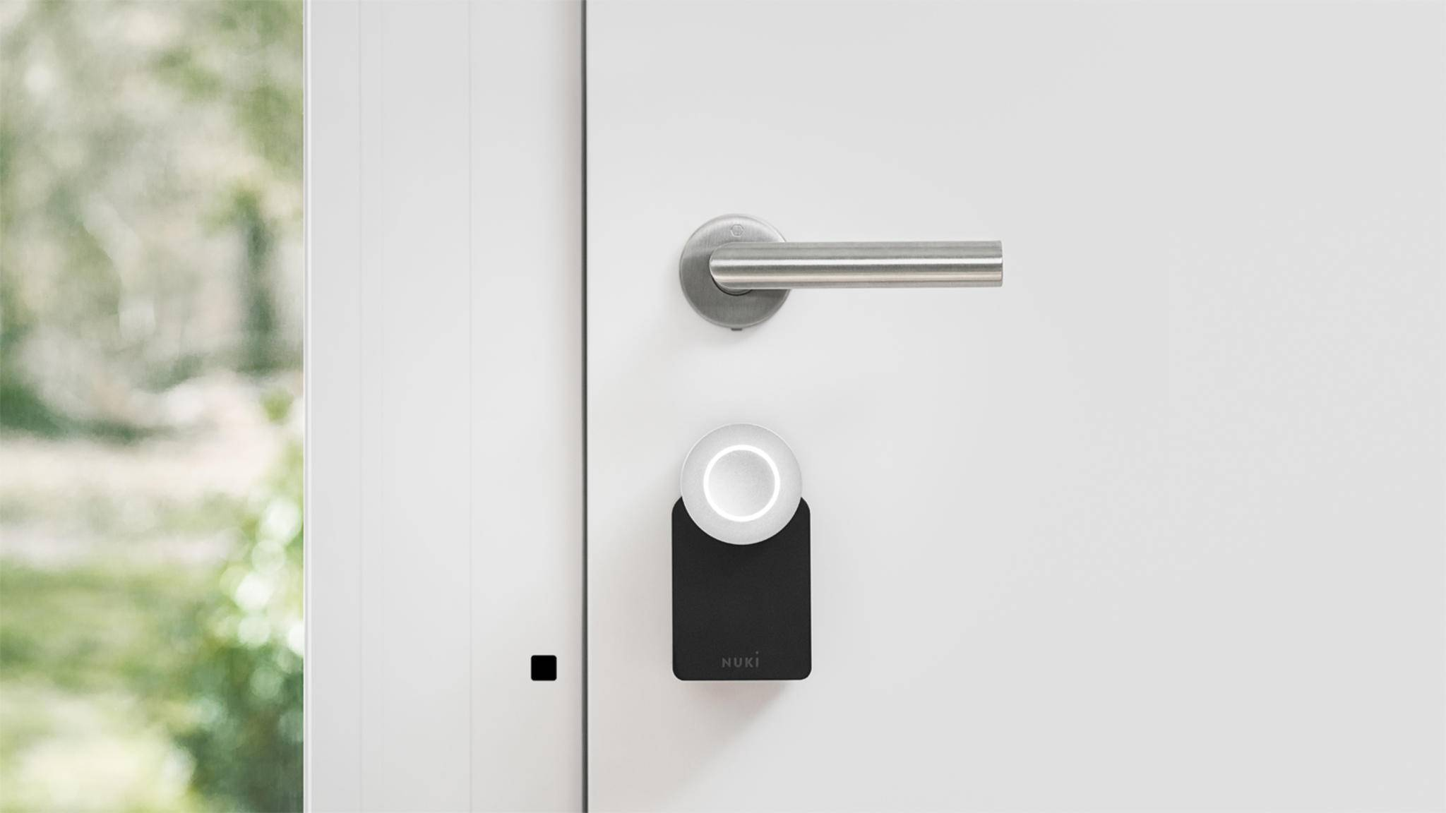 nuki smart lock schloss