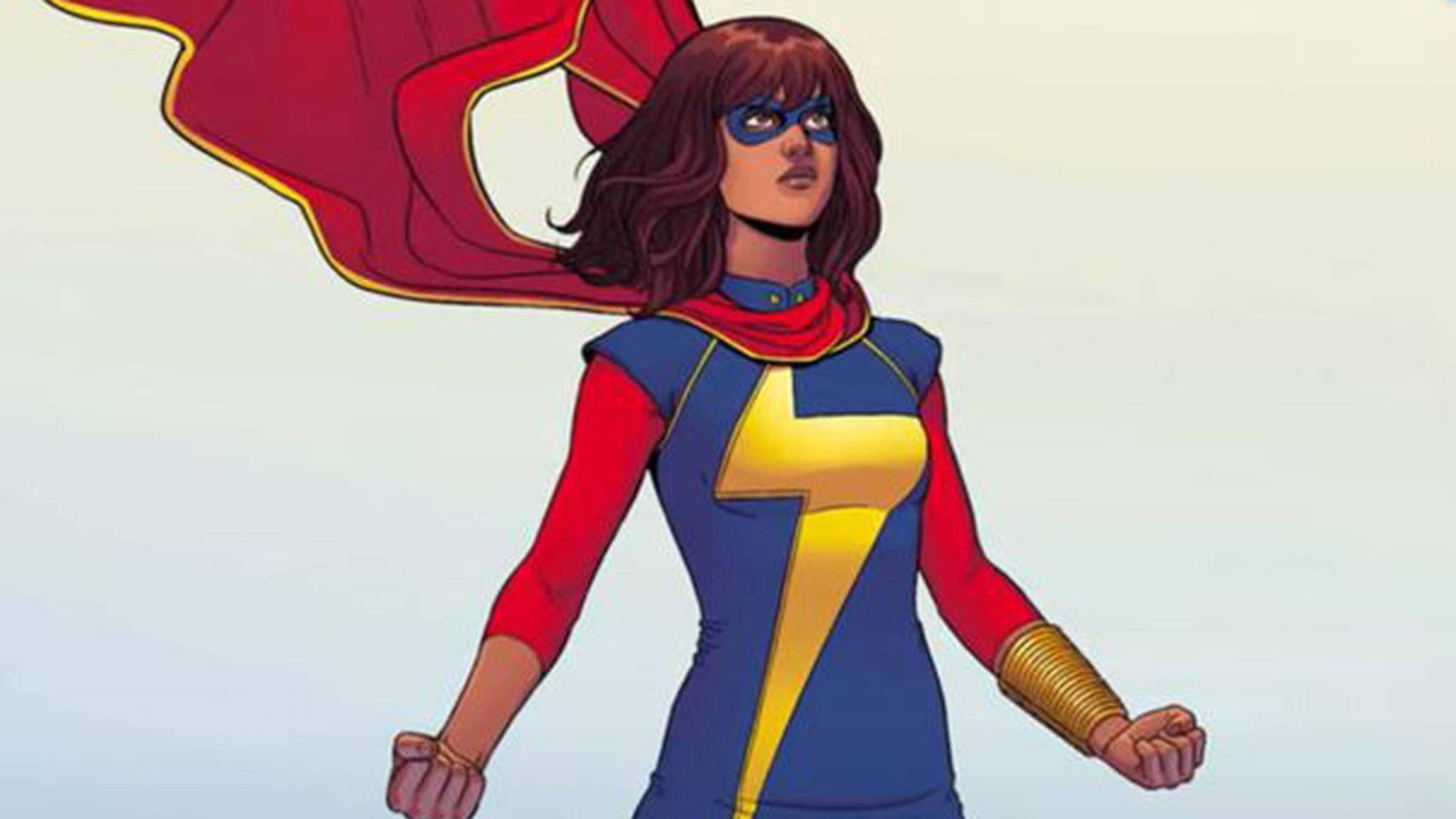 Ms. Marvel Kamala Khan Comic