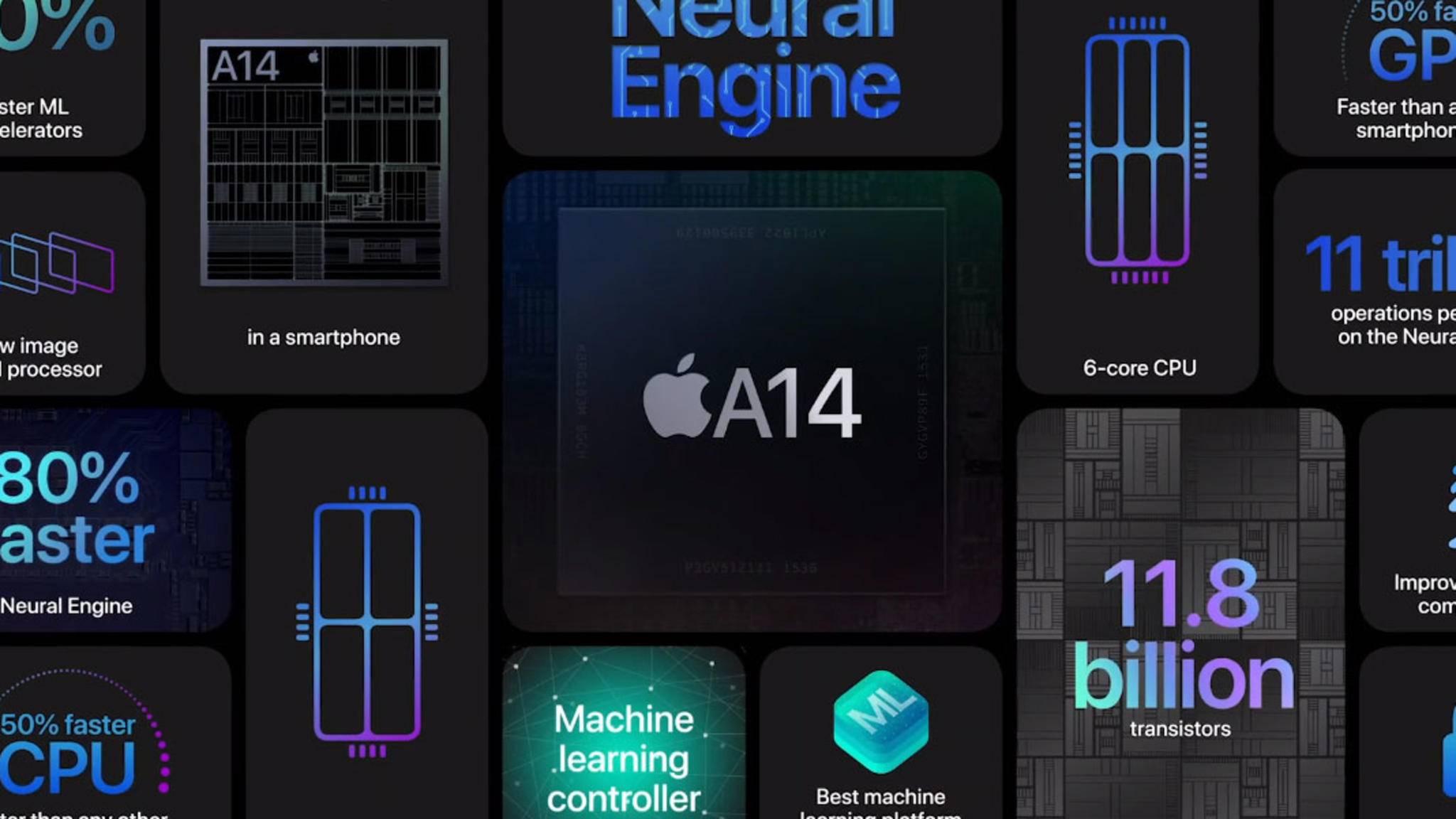 Der Apple A14 bleibt vorerst der Smartphone-Chip mit der besten Performance.