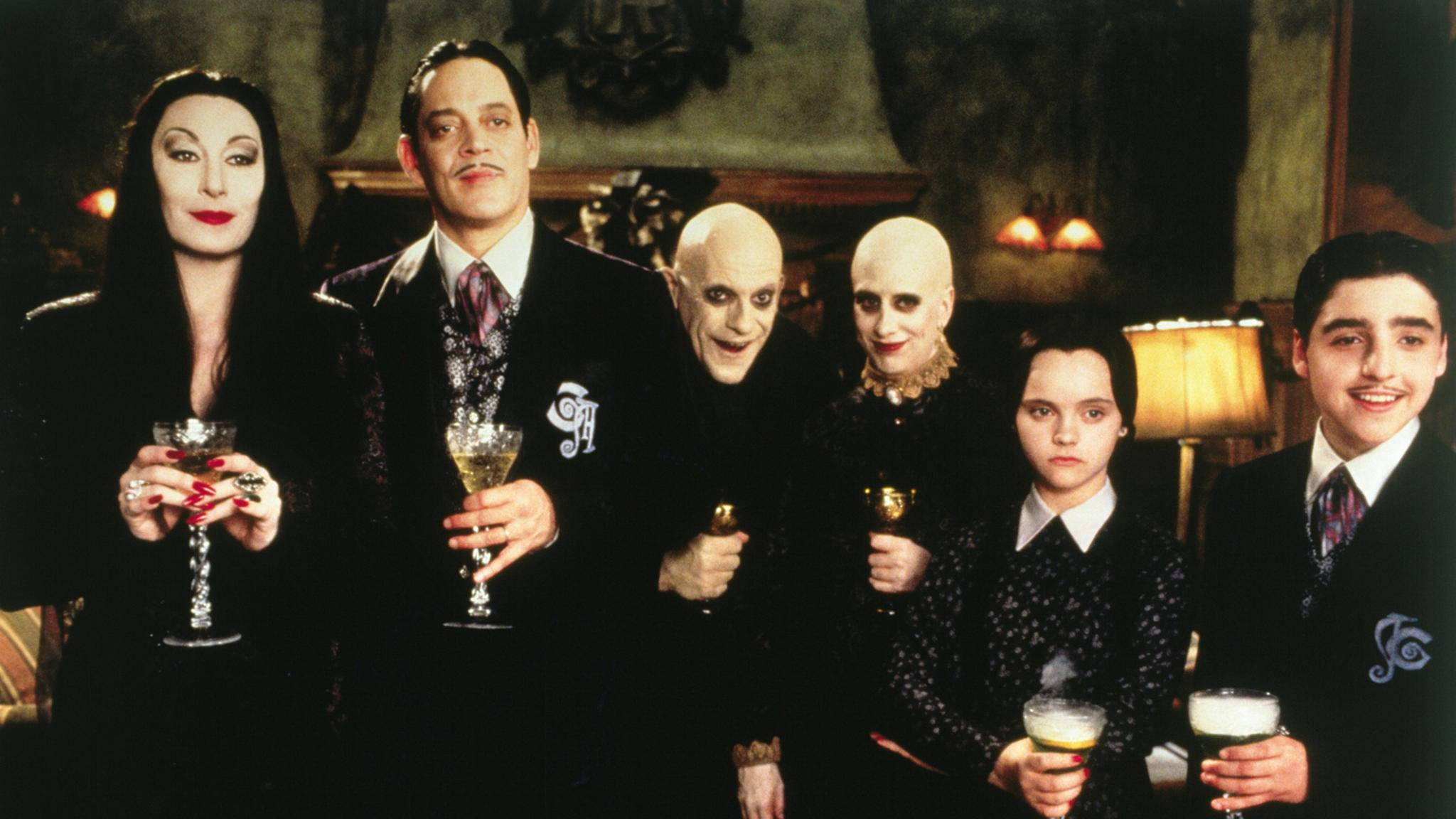 addams family in verrückter tradition