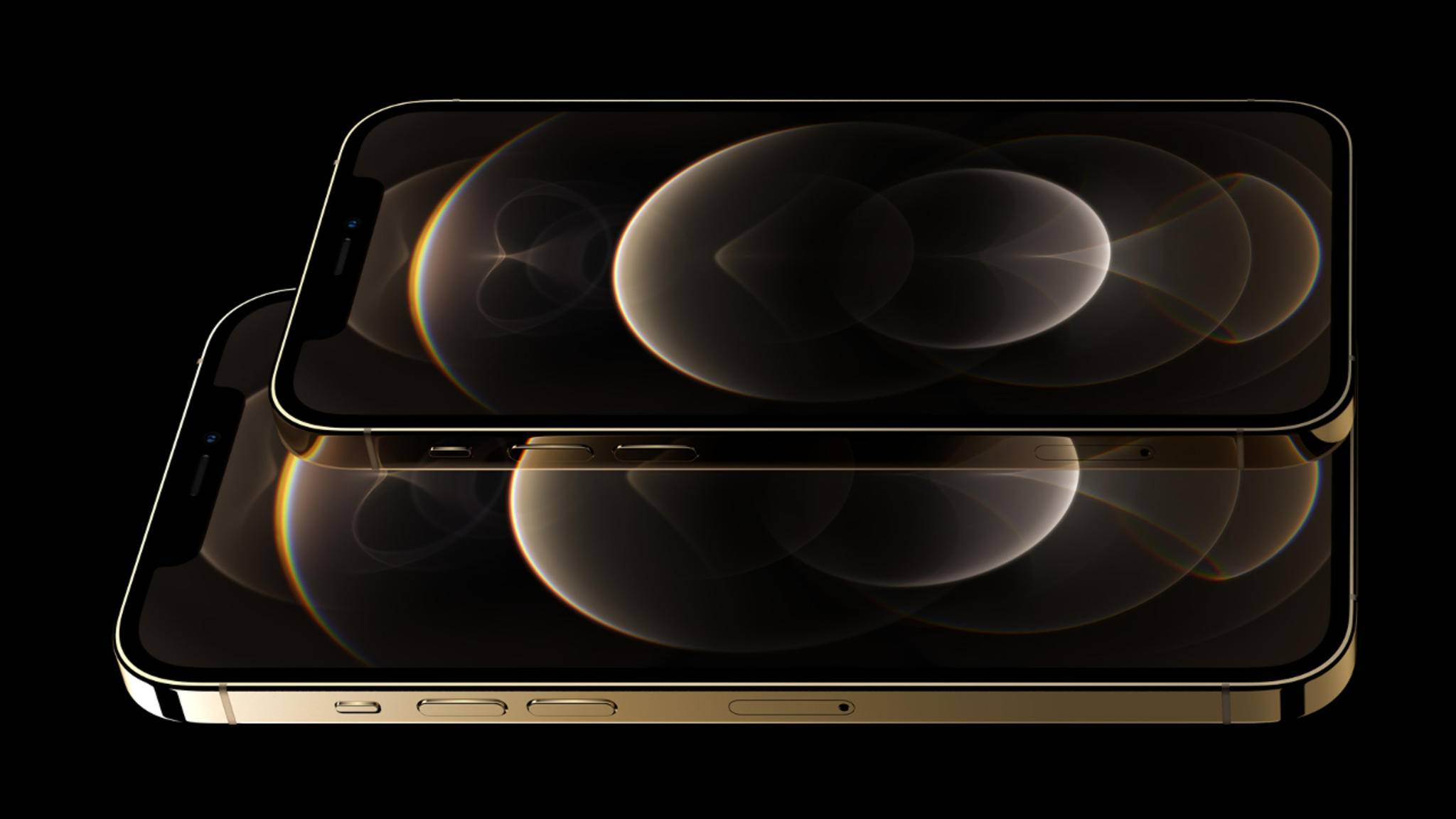 iPhone 12 Pro und 12 Pro Max Gold