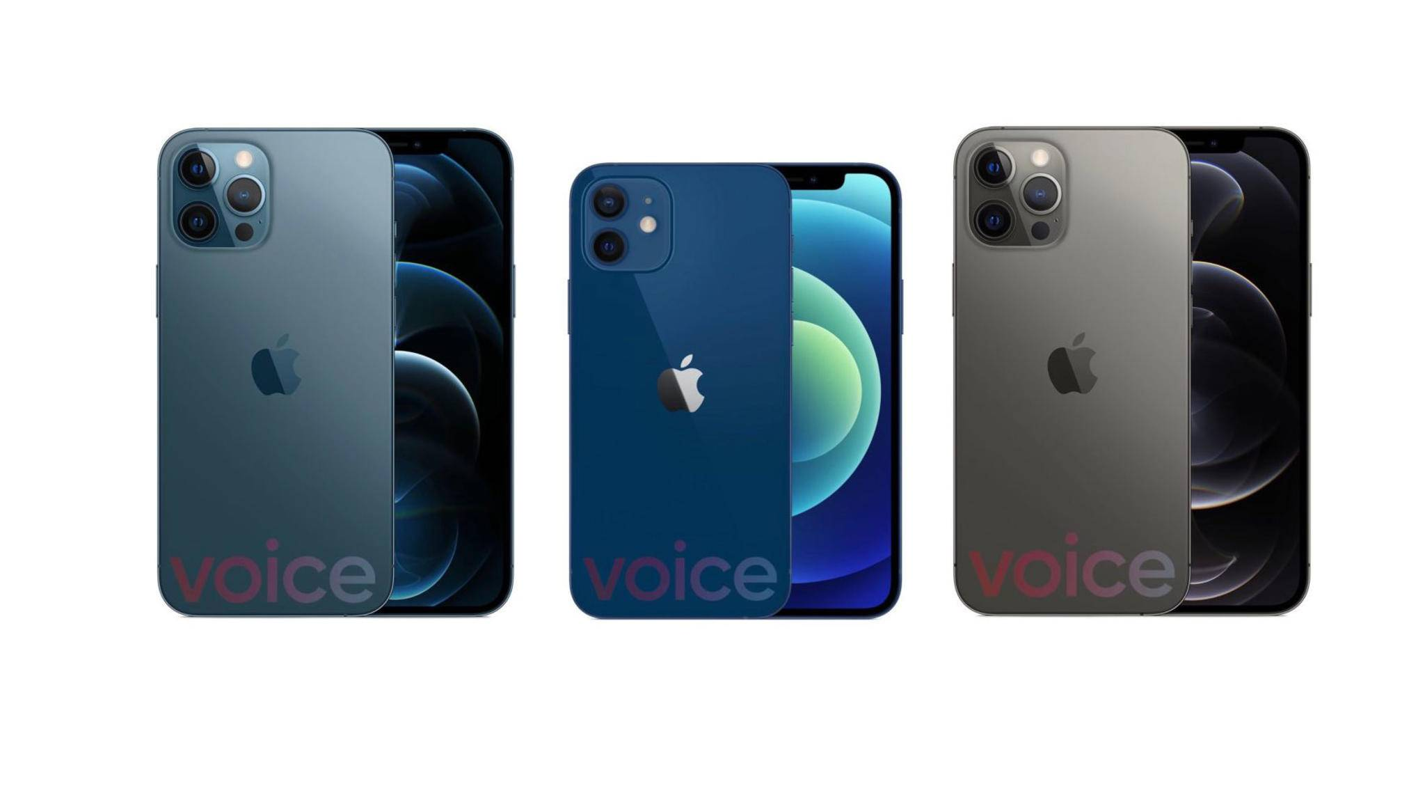 So soll das neue iPhone 12 aussehen.