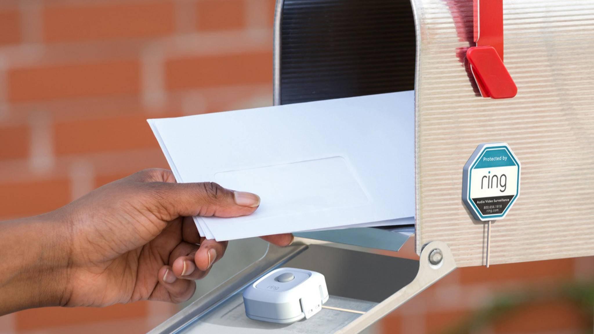 ring mailbox sensor briefkasten