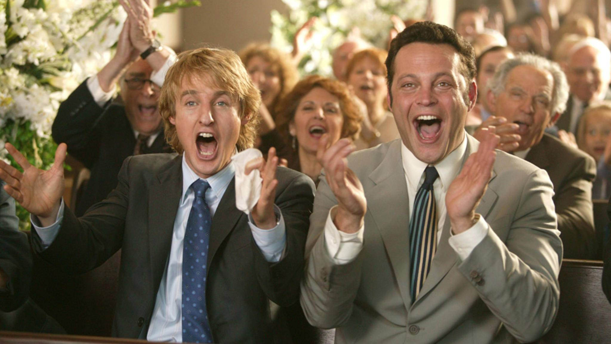 Die Hochzeits-Crasher Owen Wilson Vince Vaughn