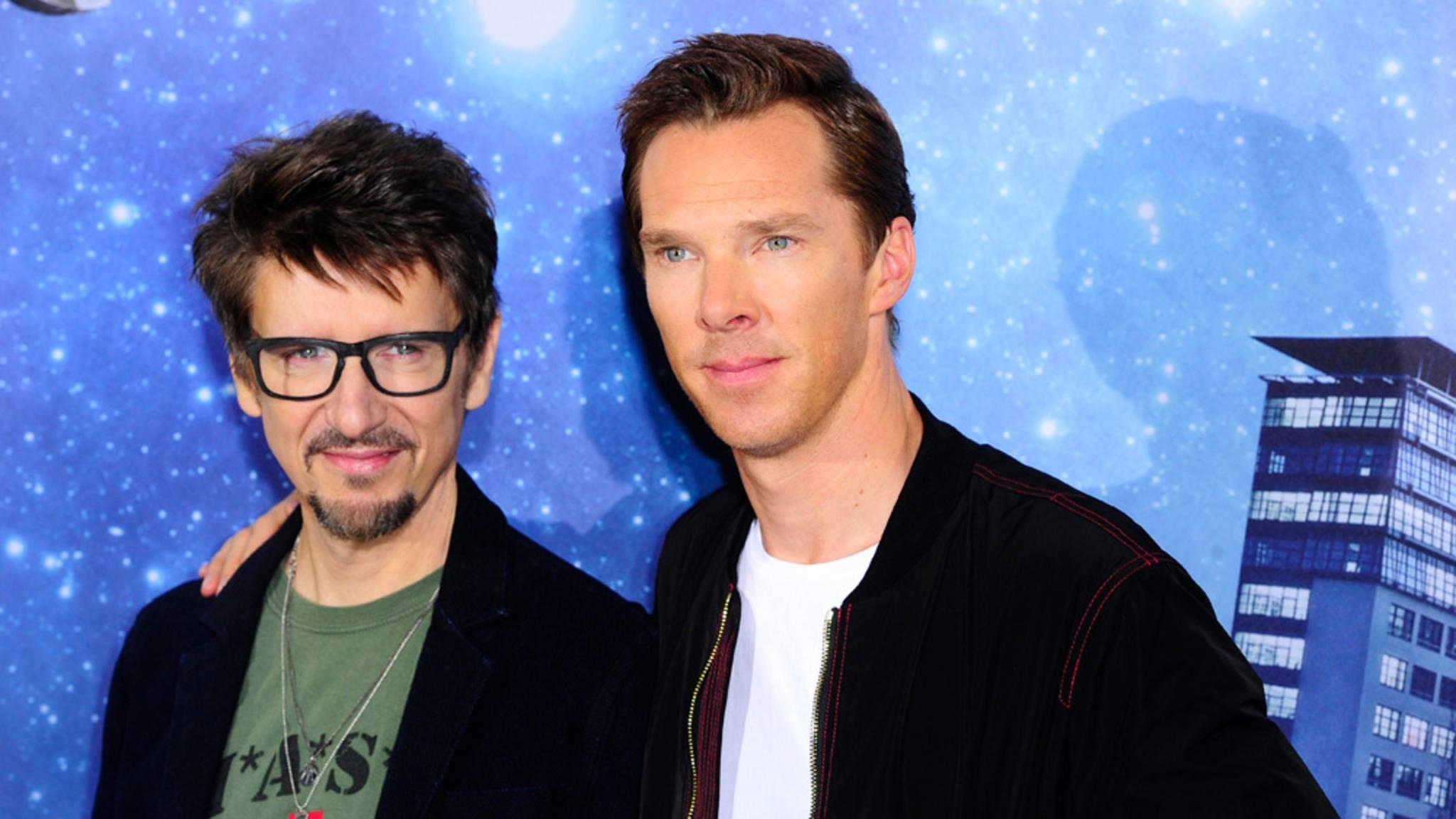 Doctor Strange-Regisseur Scott Derrickson und Benedict Cumberbatch