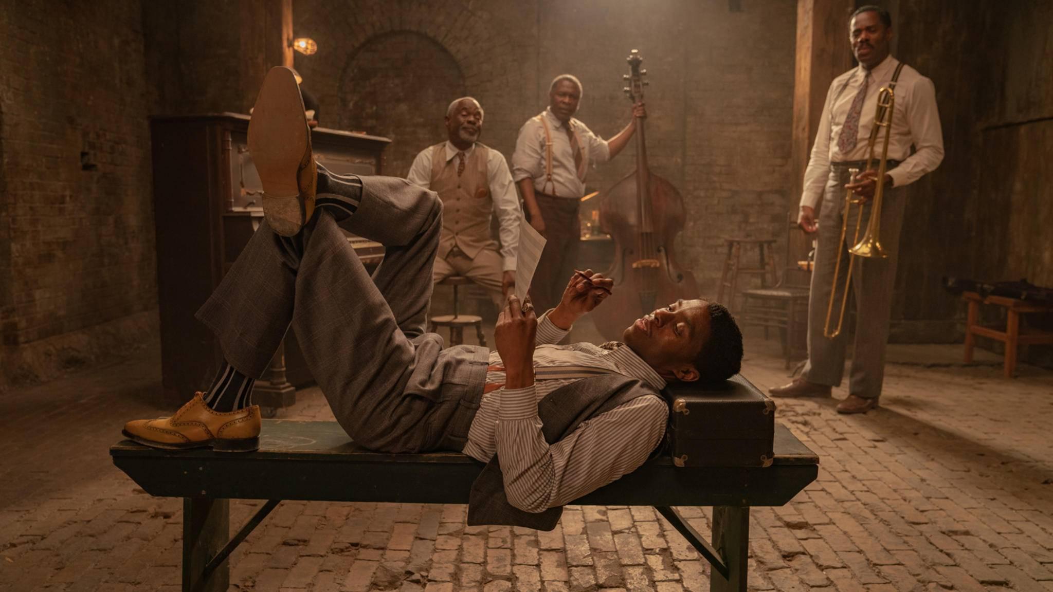 Ma Rainey's Black Bottom Chadwick Boseman als Levee