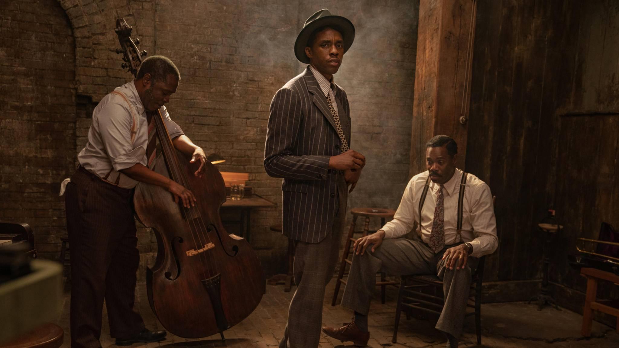 Ma Rainey's Black Bottom Michael Potts, Chadwick Boseman und Colman Domingo