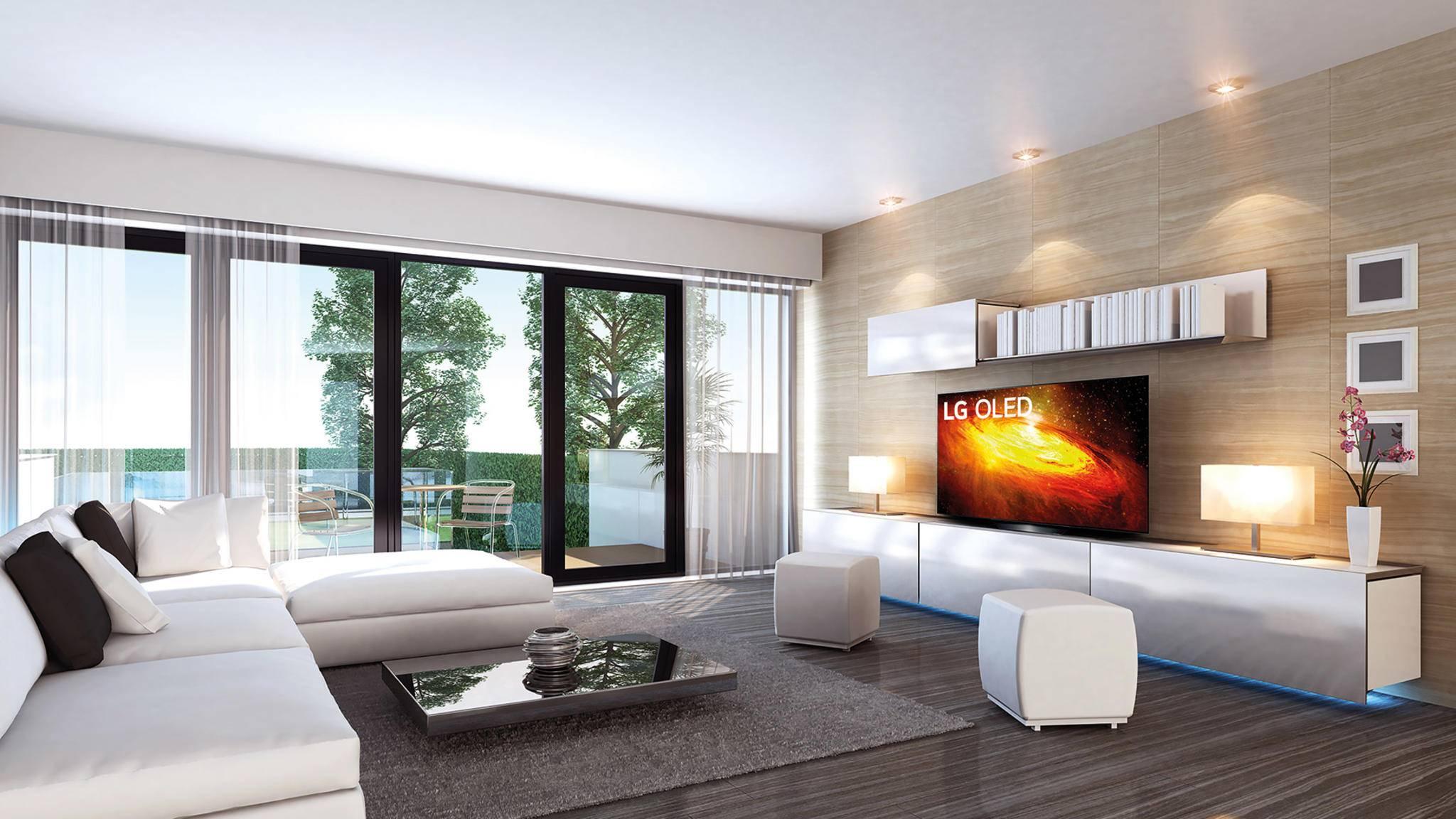 Schick, brillantes Bild, vollgepackt mit raffinierten Features: der OLED-TV von LG.