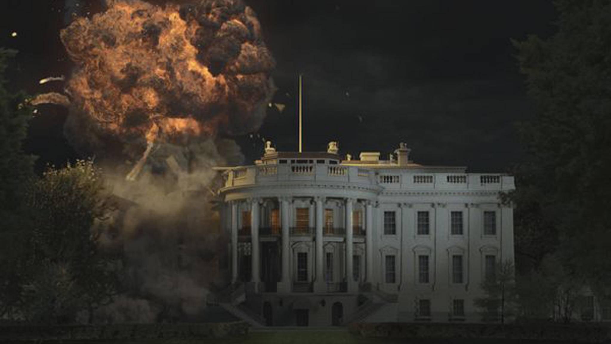 Olympus Has Fallen White House