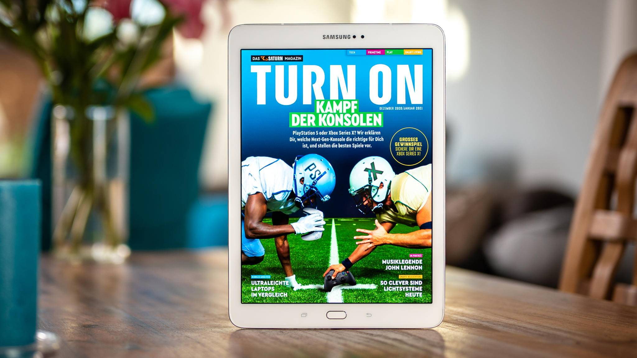 TURN ON Magazin November Dezember