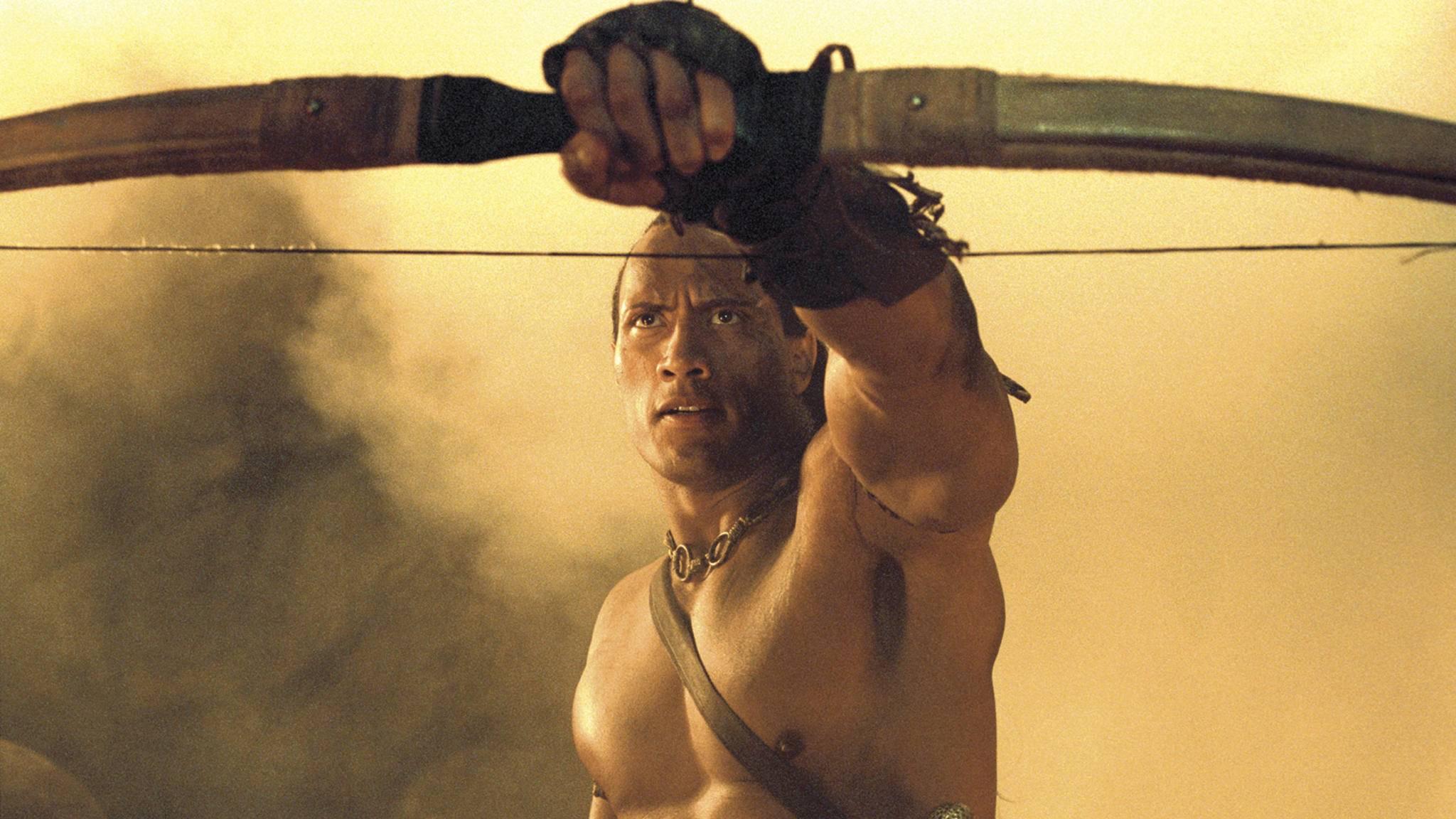 The Scorpion King Dwayne Johnson