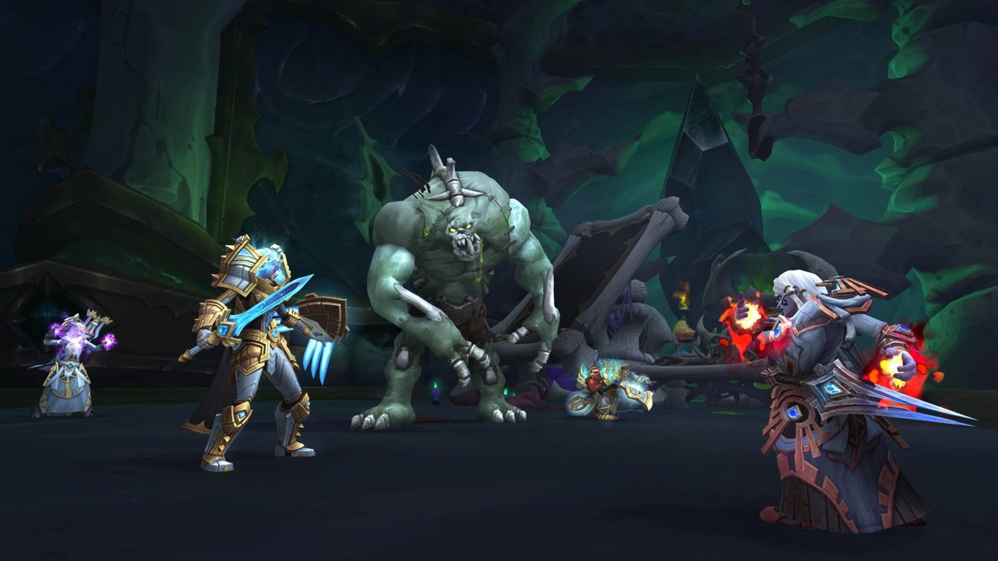 World of Warcraft Shadowlands Nekrotische Schneise