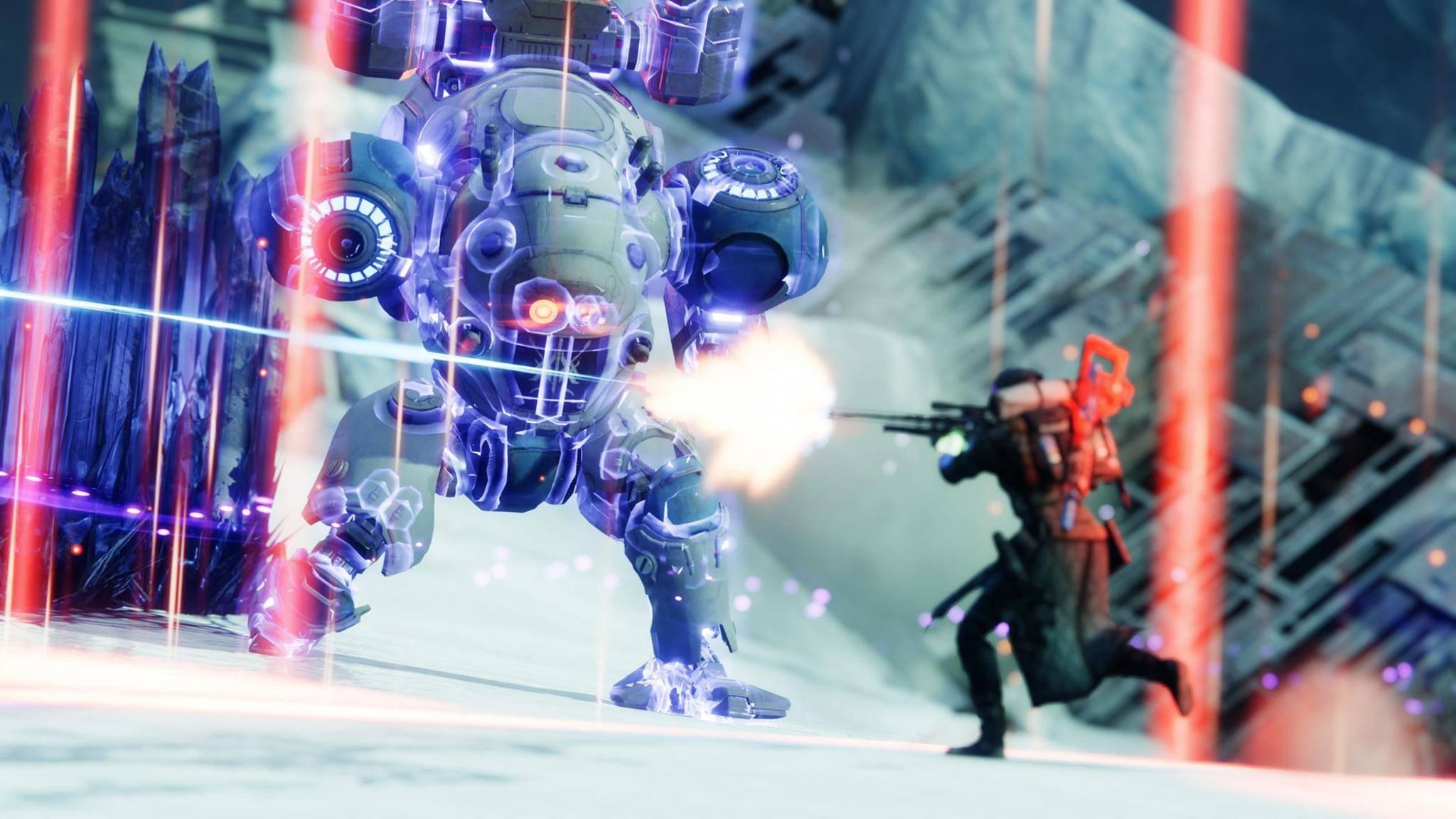 """Das neue """"Destiny 2""""-Event lässt Dich Kampfroboter sprengen."""