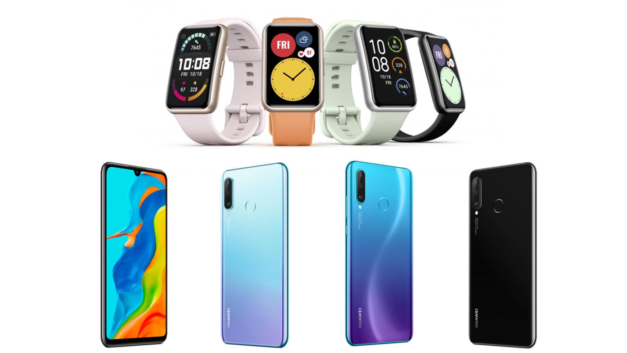 Smartwatch und Smartphone: eine unschlagbare Kombination.