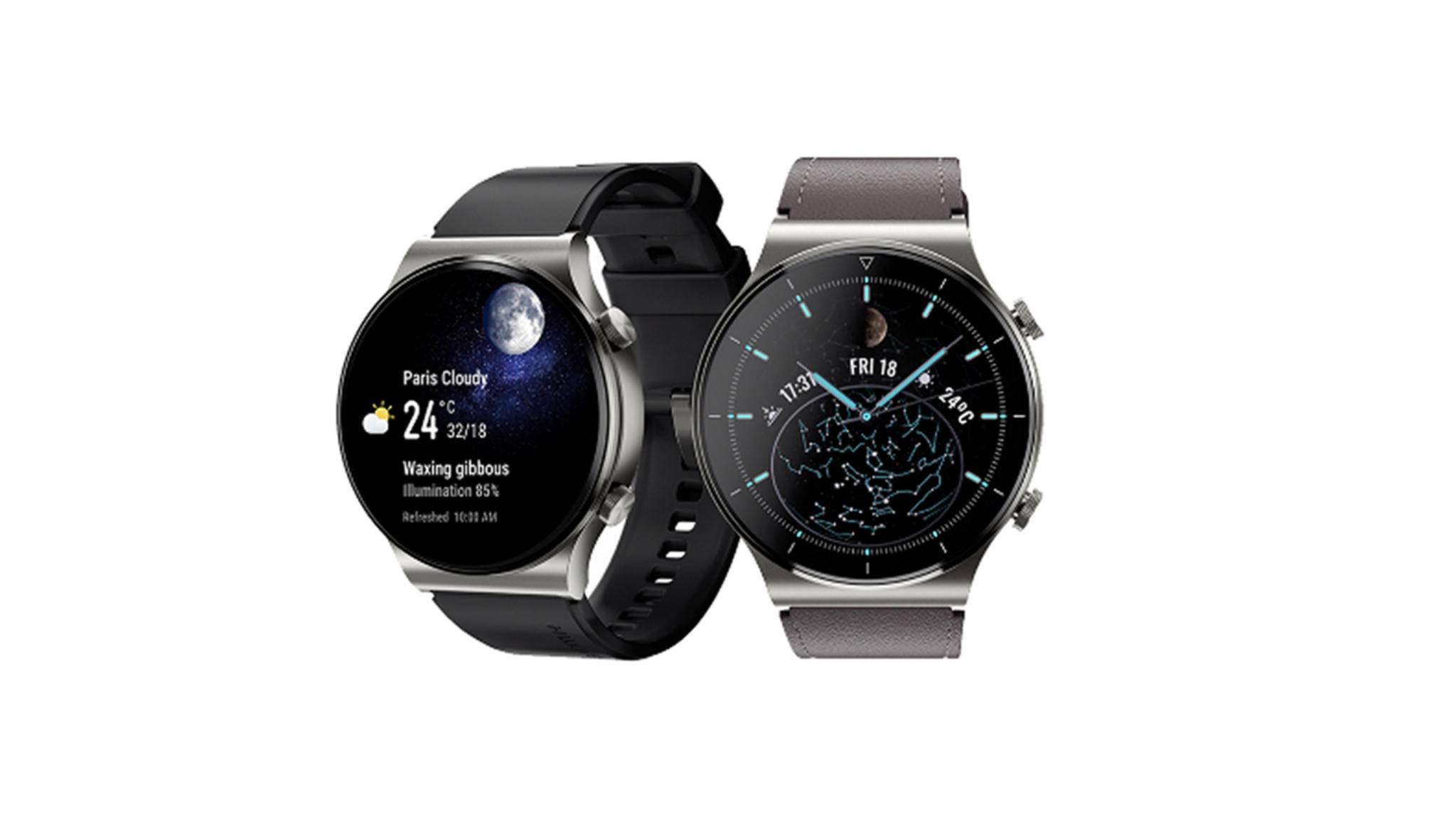 Diese Variante der Huawei Watch GT 2 Pro ist ideal für Mond-Fans.