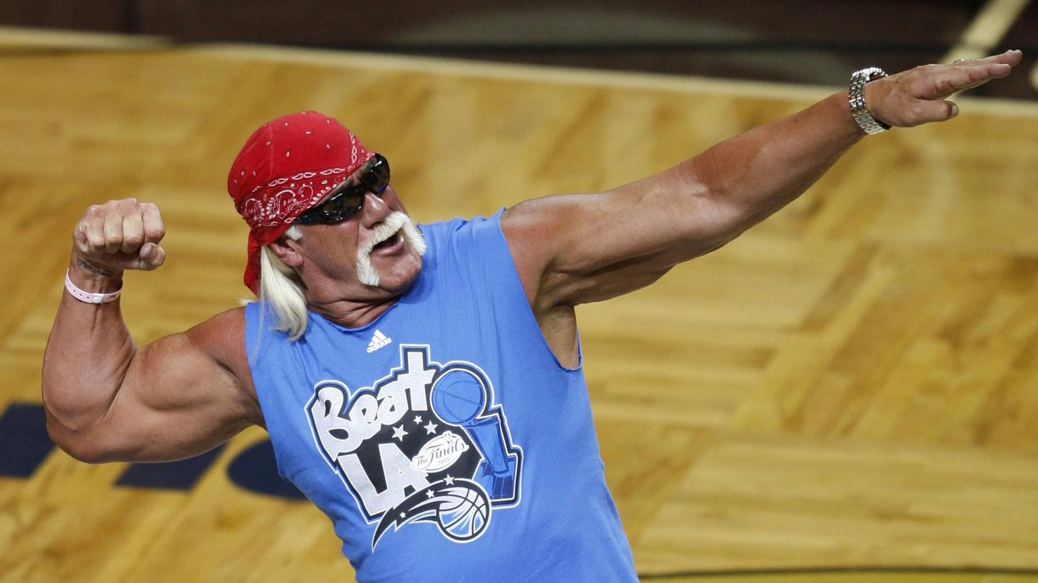 Wrestler Hulk Hogan
