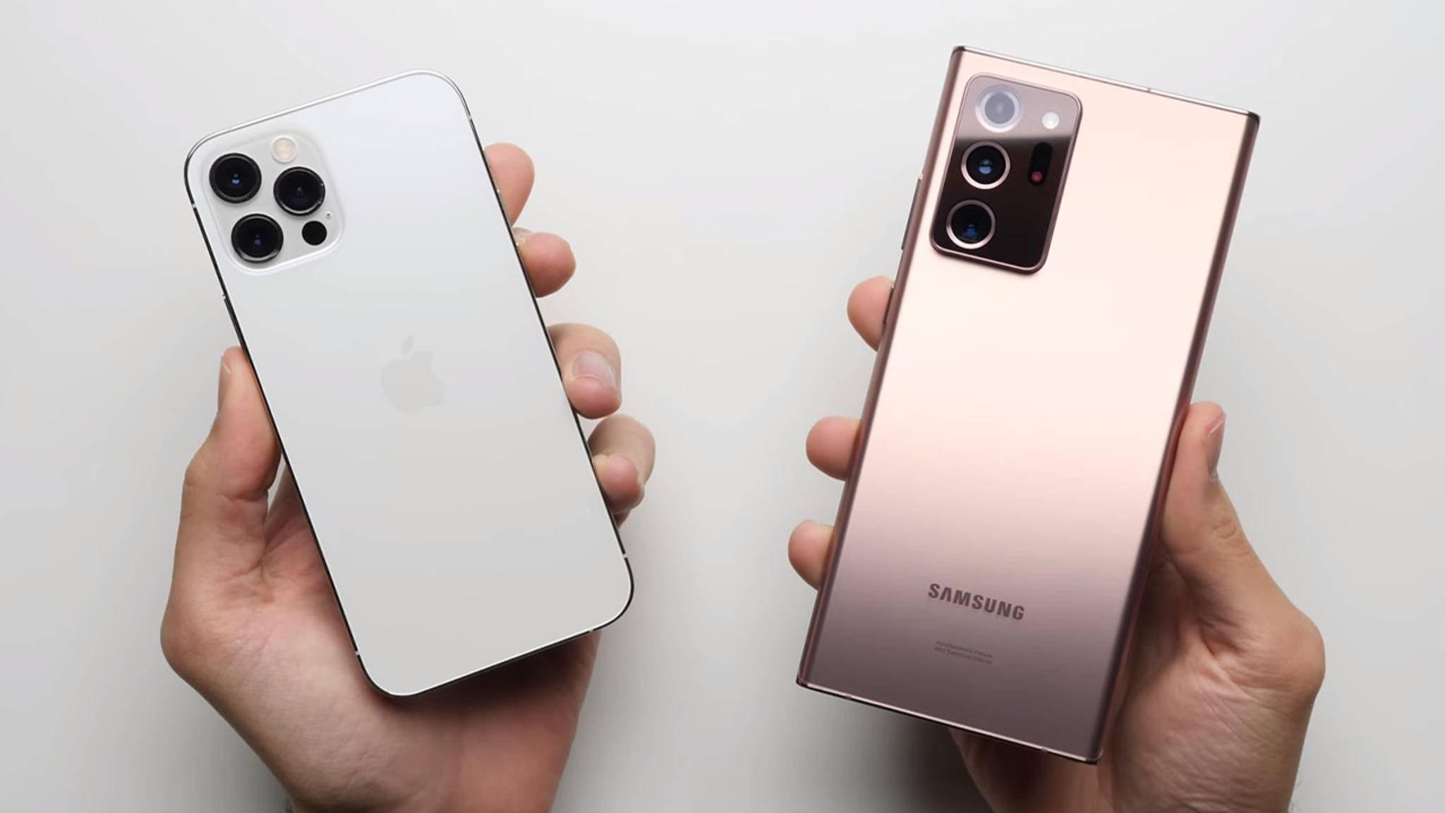 iPhone-12-pro-samsung-galaxy-note-20-ultra-speed-test